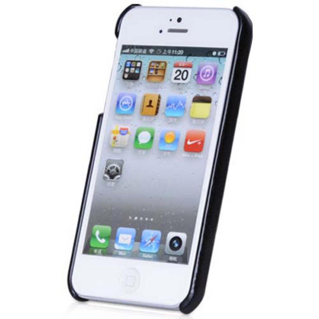 Чехол для моб. телефона HOCO для iPhone 5 /Duke back (HI-BL006 Black) изображение 2