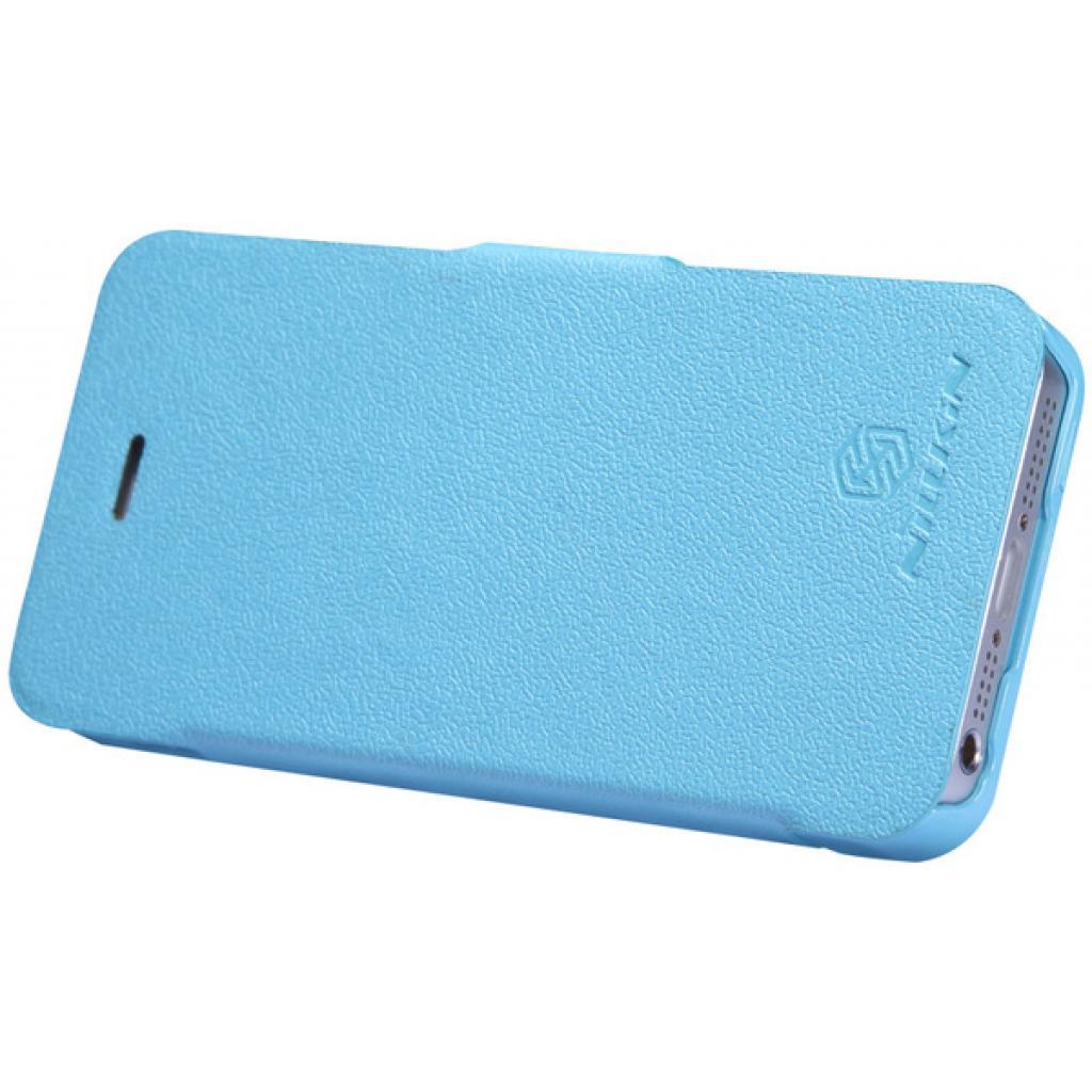 Чехол для моб. телефона NILLKIN для iPhone 5 /Fresh/ Leather/Blue (6065679) изображение 2
