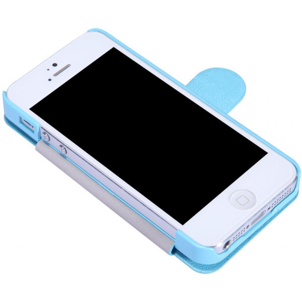Чехол для моб. телефона NILLKIN для iPhone 5 /Fresh/ Leather/Blue (6065679) изображение 3