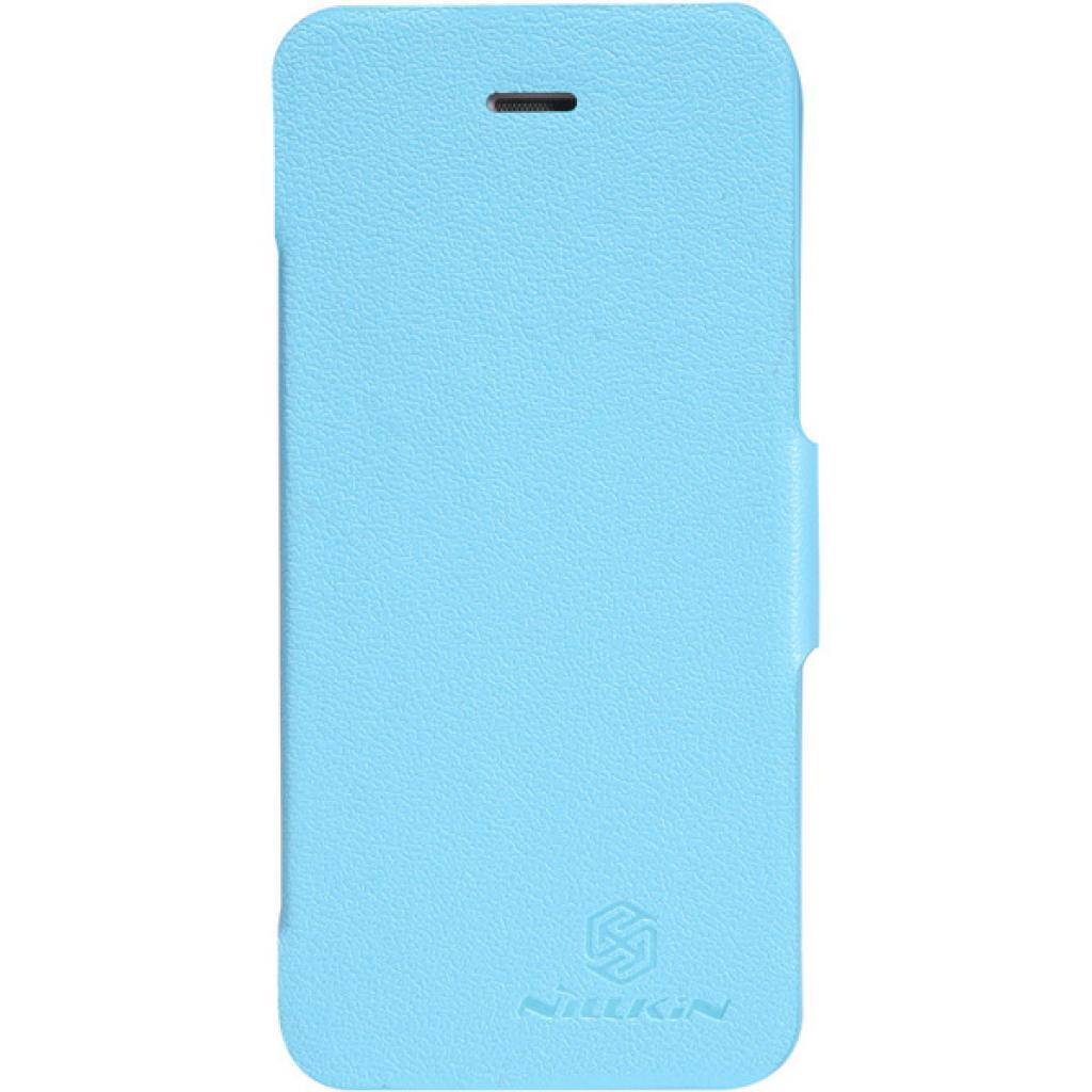 Чехол для моб. телефона NILLKIN для iPhone 5 /Fresh/ Leather/Blue (6065679)