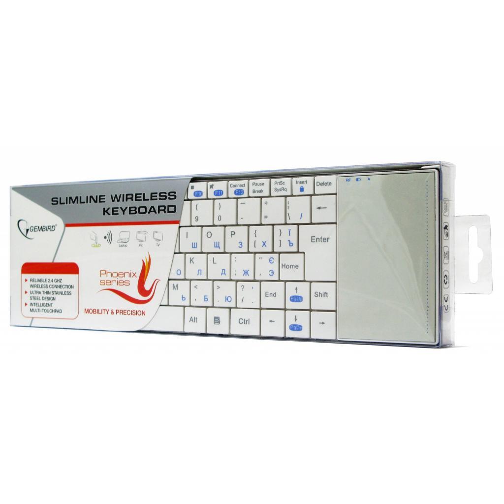 Клавиатура GEMBIRD KB-P4-W-UA изображение 7