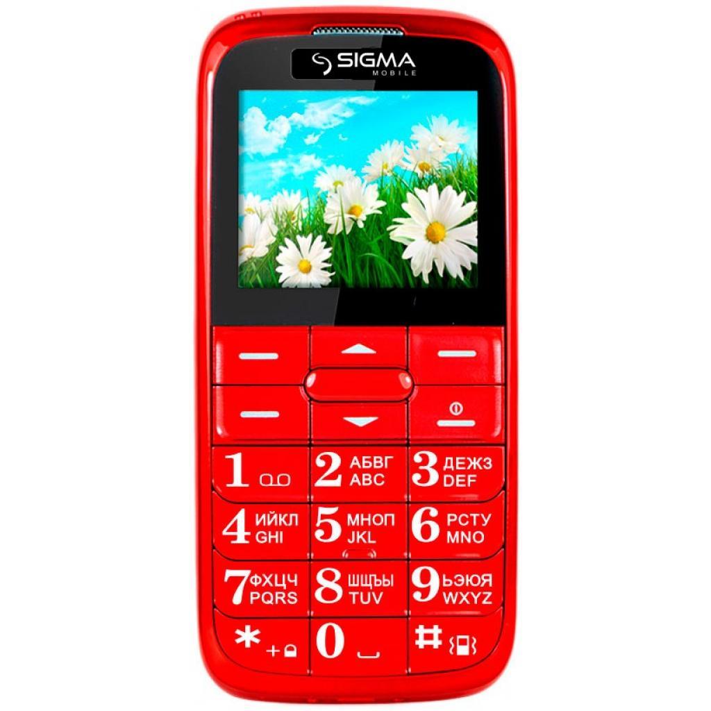 Мобильный телефон Sigma Comfort 50 Slim Red (4304210212151) изображение 2
