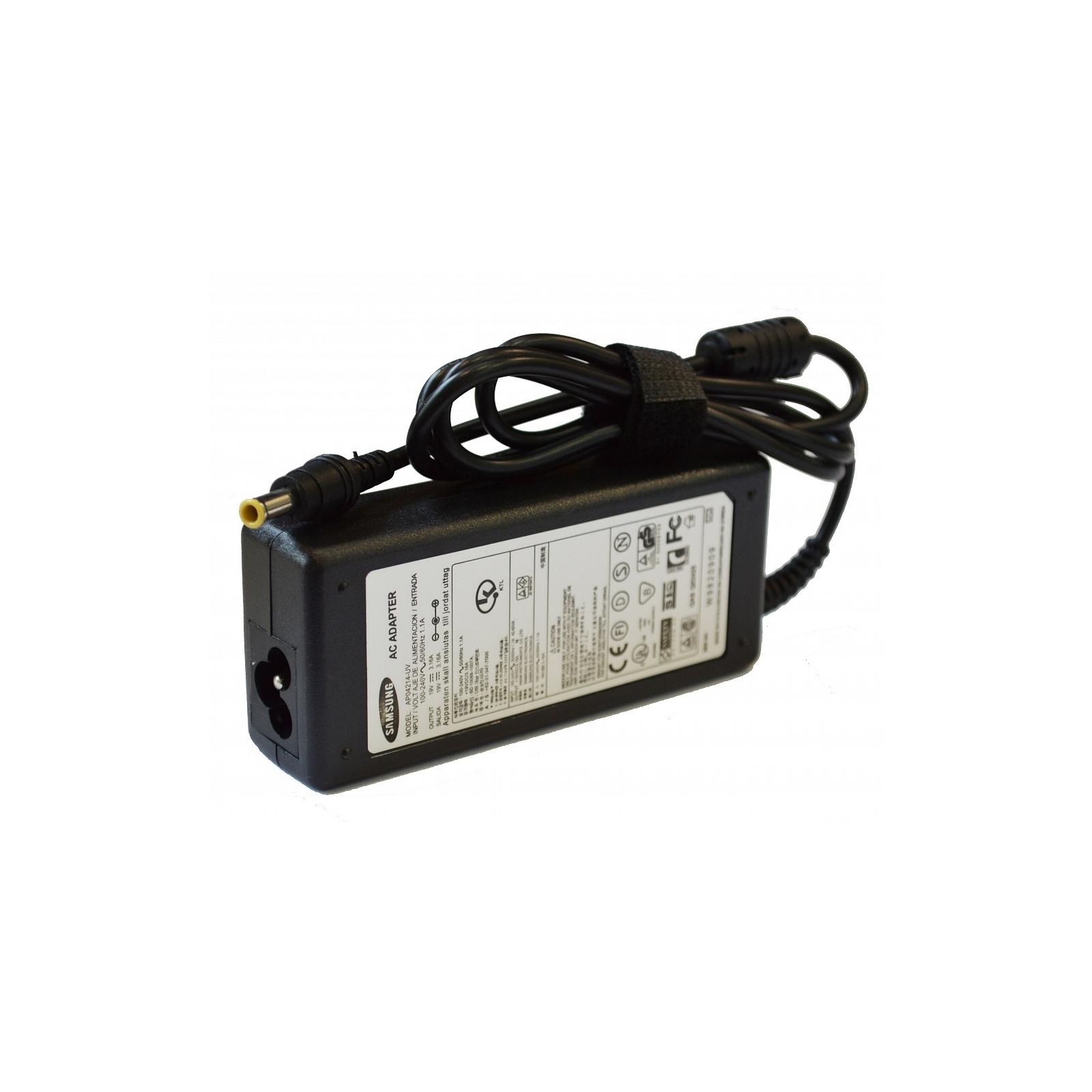 Блок питания к ноутбуку Drobak SAMSUNG 19V 60W 3.16A (5.5*3.0 black with pin inside) (142110) изображение 2