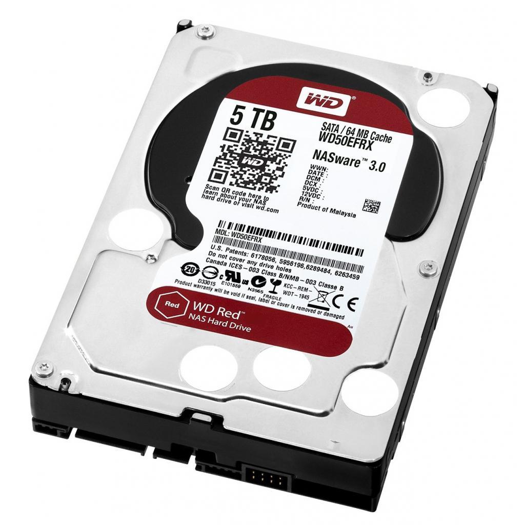 """Жесткий диск 3.5"""" 5TB Western Digital (WD50EFRX) изображение 3"""