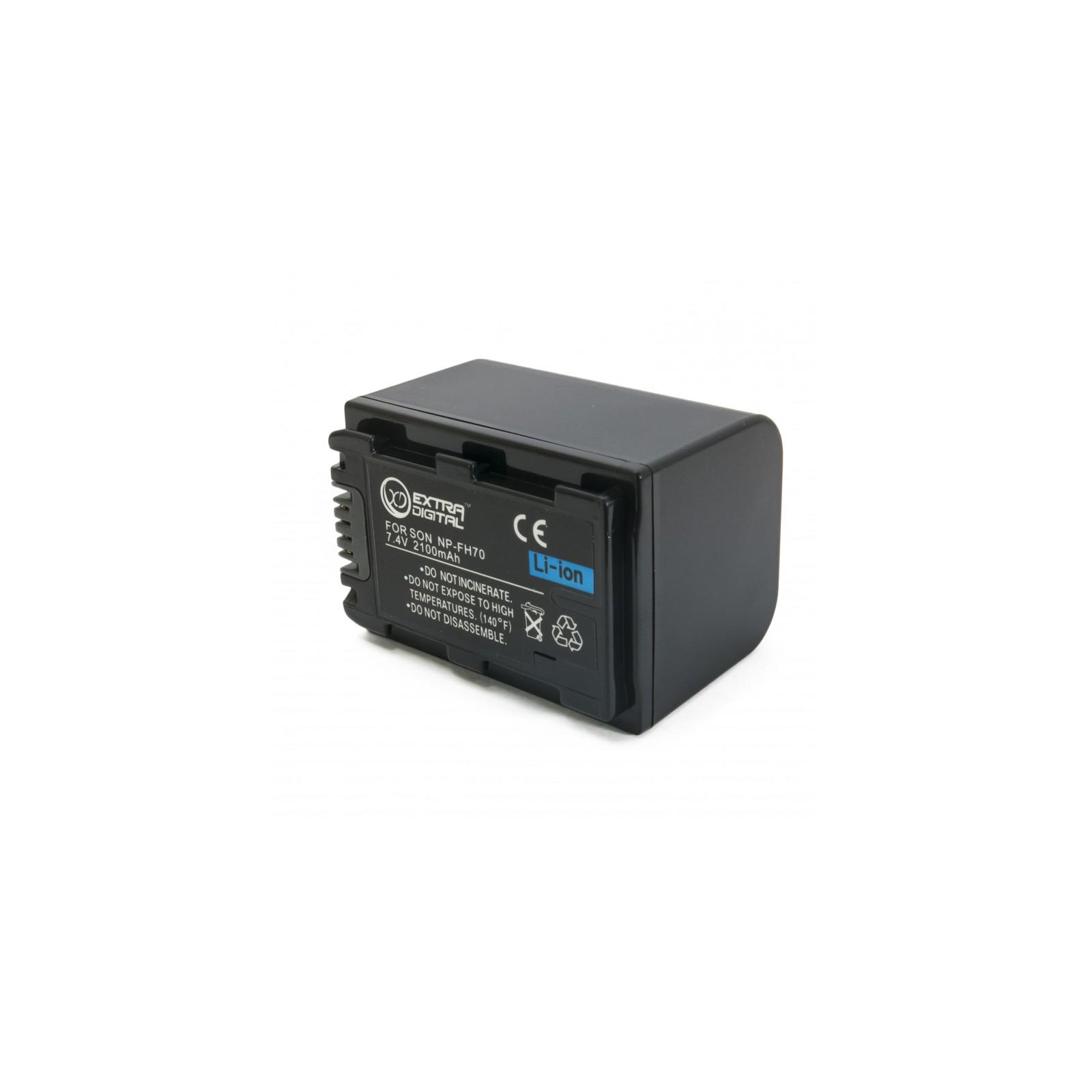 Аккумулятор к фото/видео EXTRADIGITAL Sony NP-FH70 (BDS2661) изображение 2