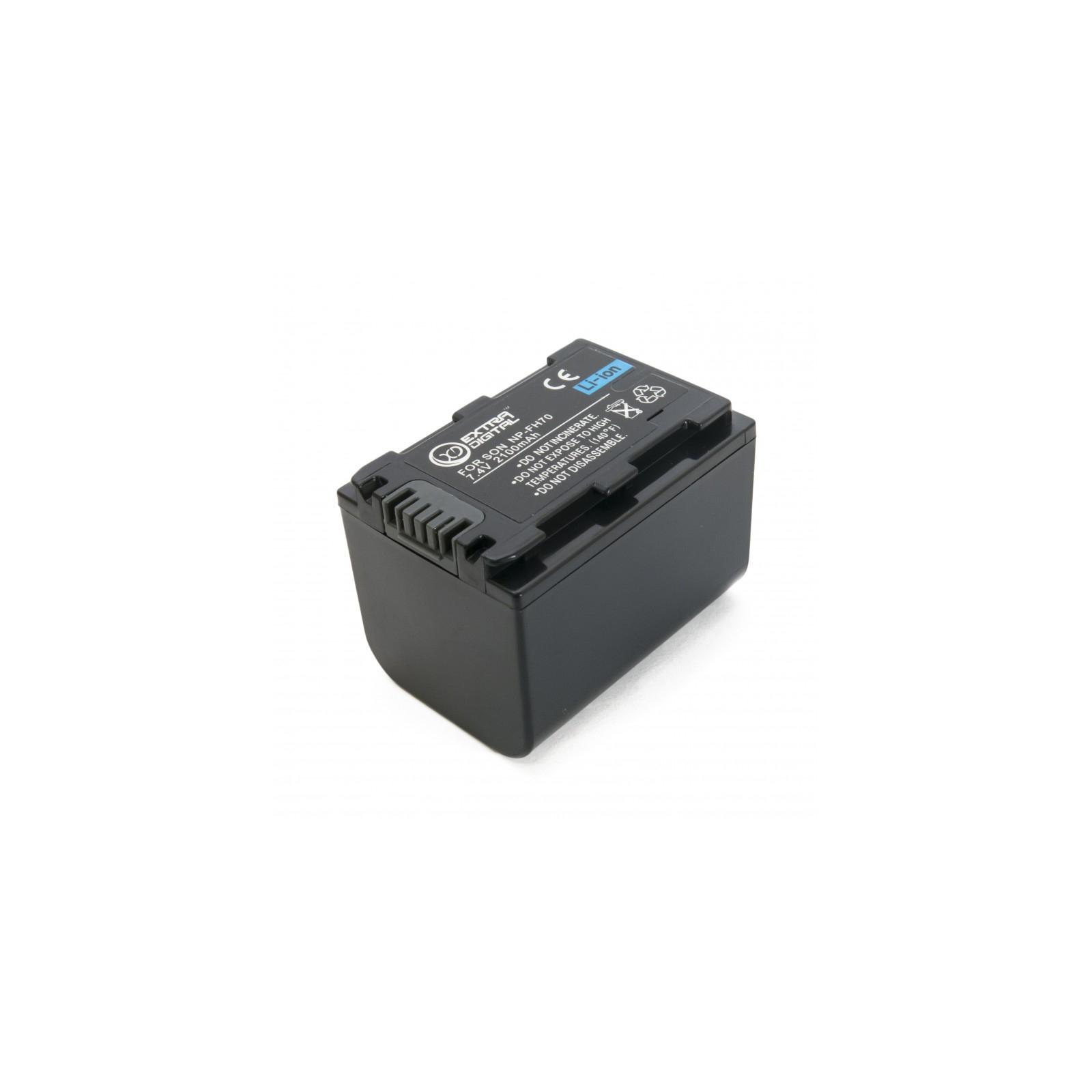 Аккумулятор к фото/видео EXTRADIGITAL Sony NP-FH70 (BDS2661) изображение 4