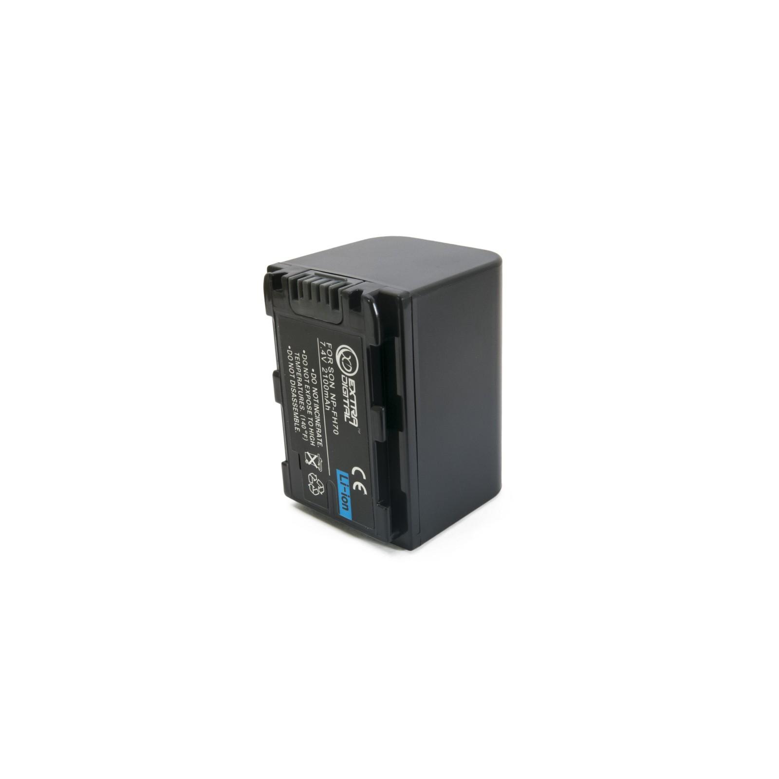 Аккумулятор к фото/видео EXTRADIGITAL Sony NP-FH70 (BDS2661) изображение 6