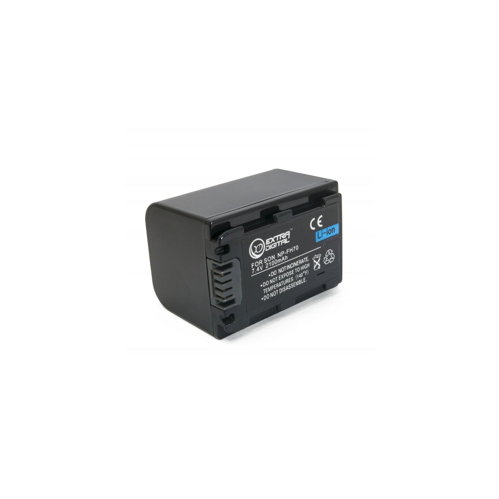 Аккумулятор к фото/видео EXTRADIGITAL Sony NP-FH70 (BDS2661)