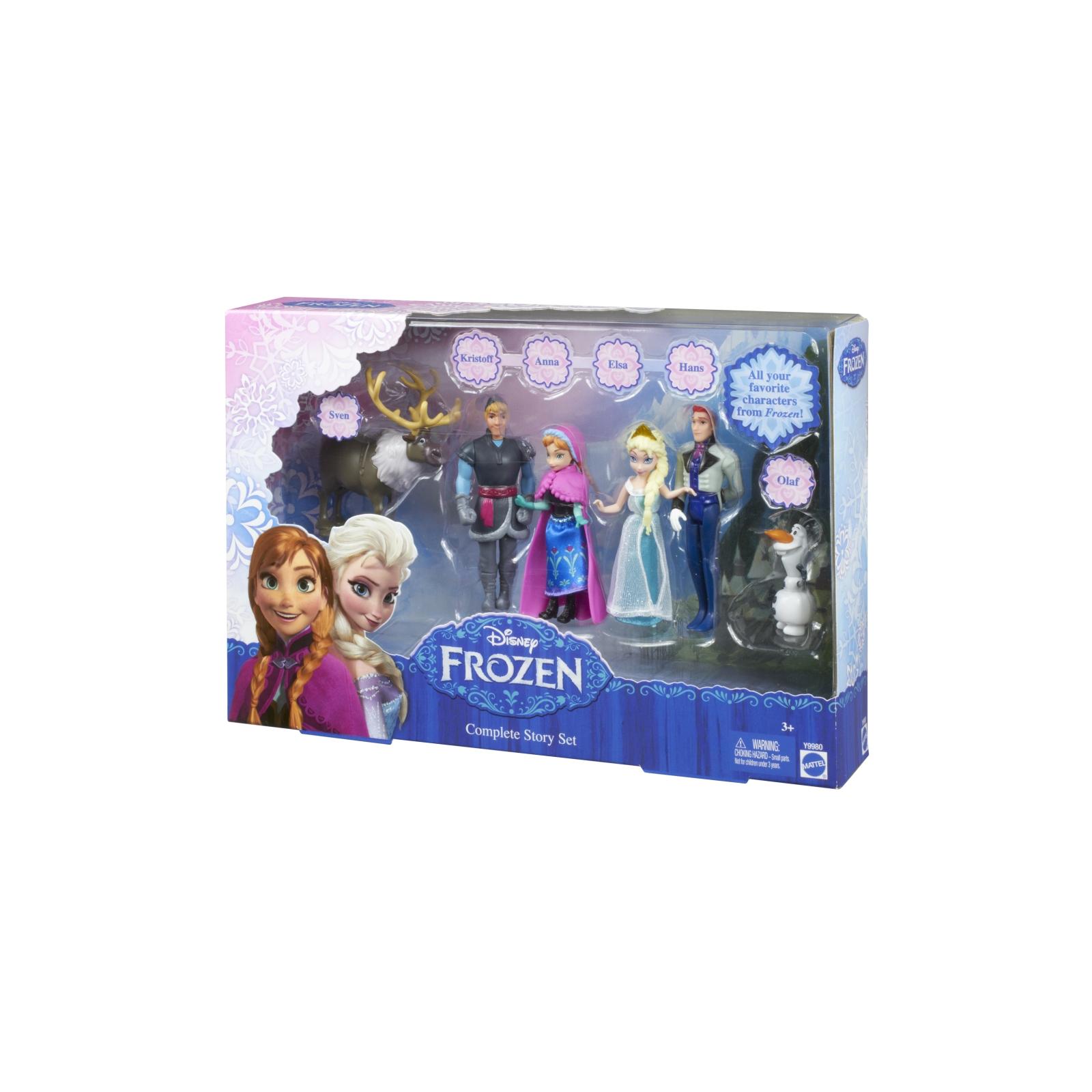Кукла Mattel мини-куклы Дисней из м/ф Ледяное сердце (Y9980) изображение 3