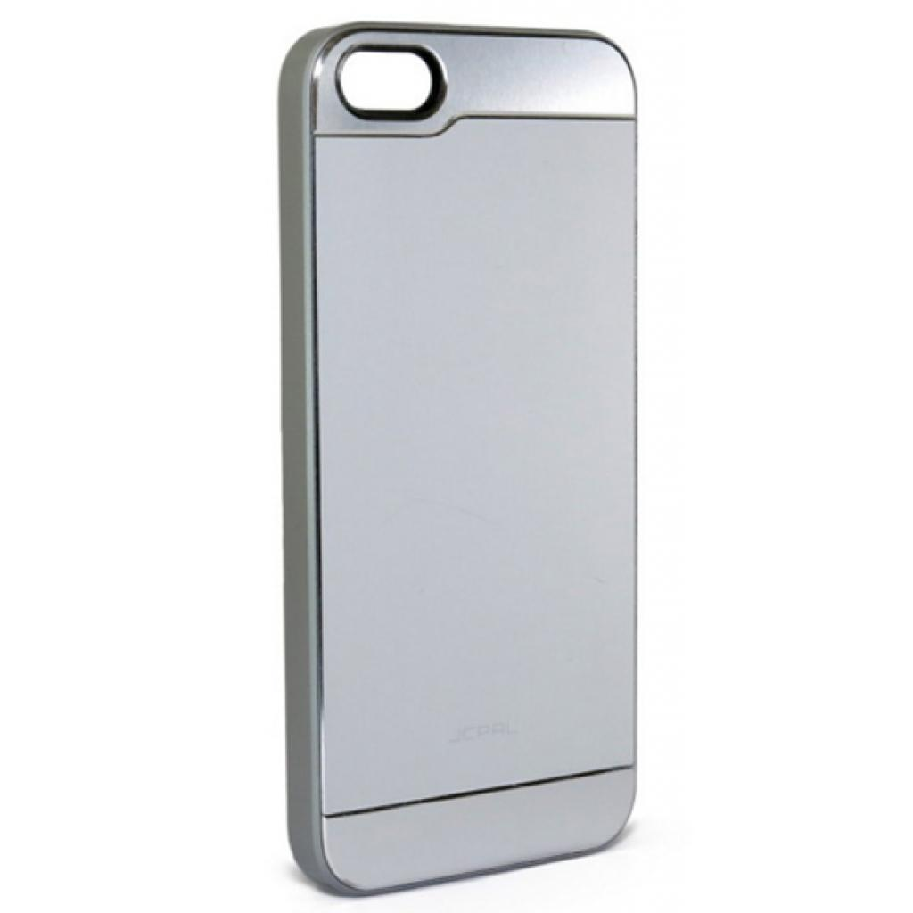 Чехол для моб. телефона JCPAL Aluminium для iPhone 5S/5 (Smooth touch-Silver) (JCP3108)