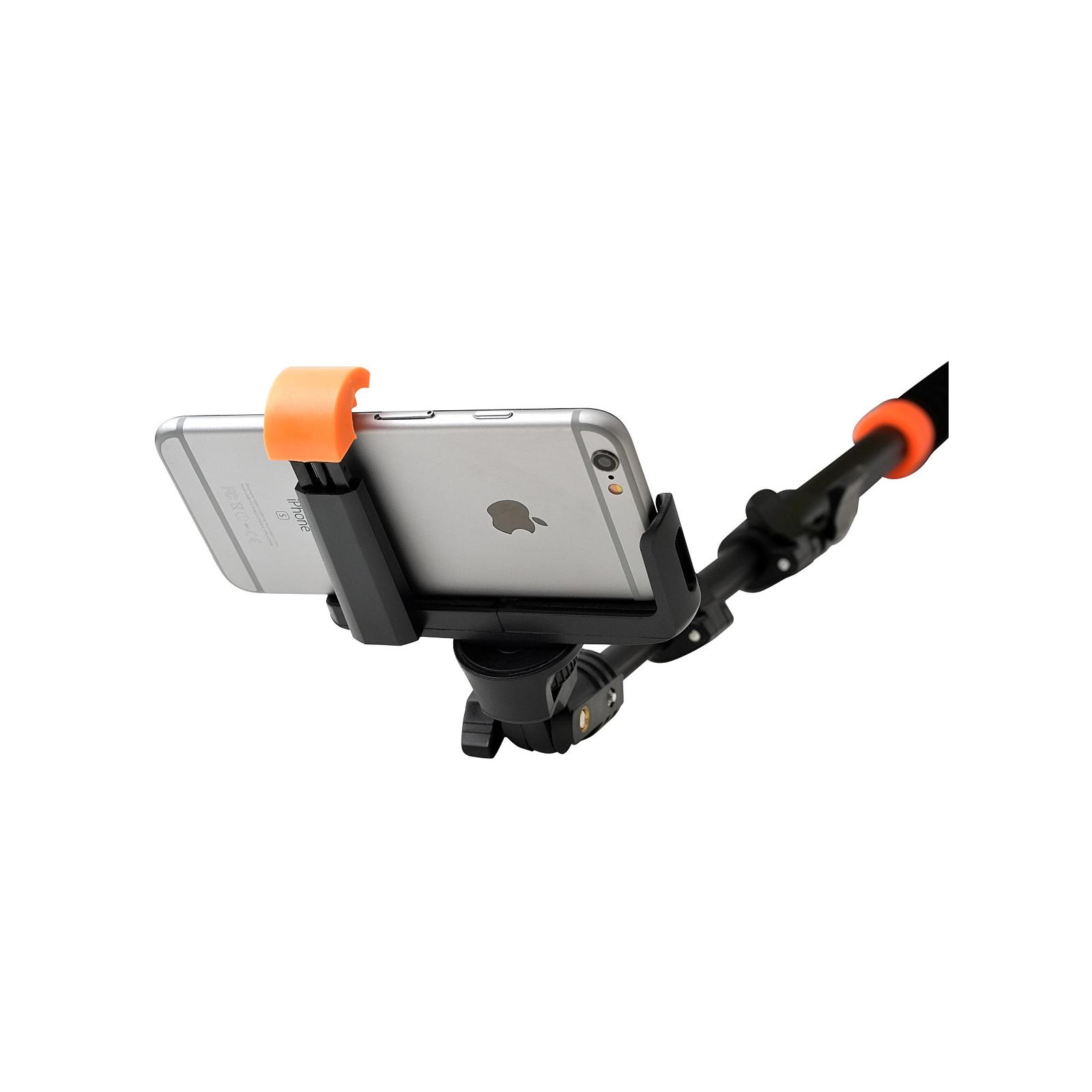 Монопод для селфи Grand-X Pro Bluetooth L-крепление алюминий (MPGPABLBR) изображение 4