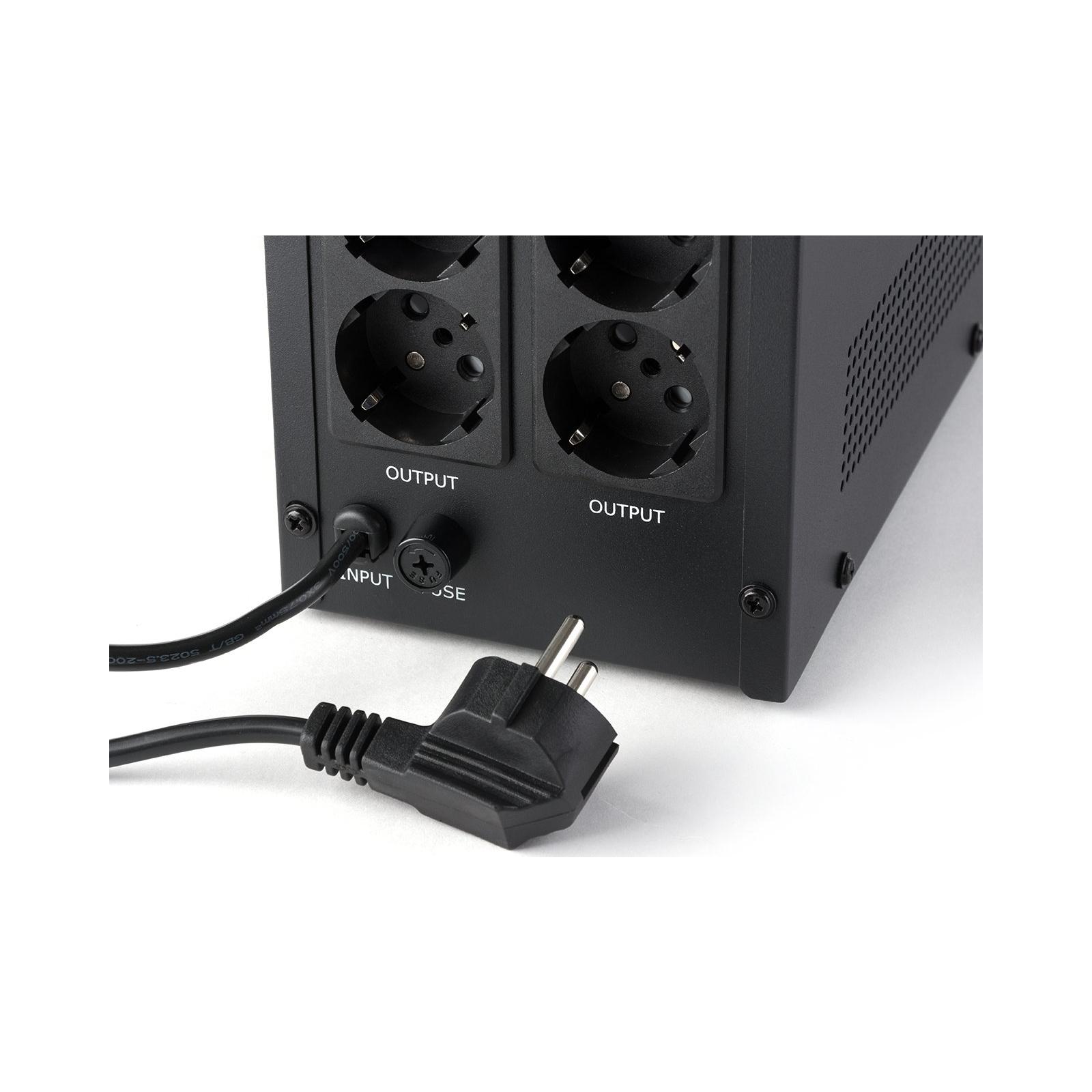 Источник бесперебойного питания Vinga LCD 2000VA metall case (VPC-2000M) изображение 8