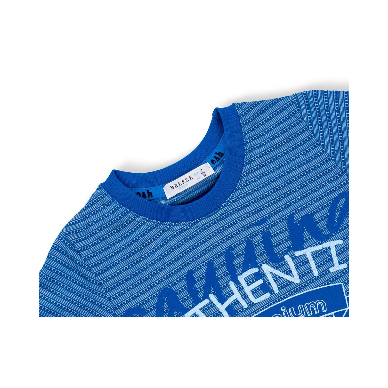 """Футболка детская Breeze с шортами """"AUTHENTIC"""" (10583-92B-blue) изображение 7"""
