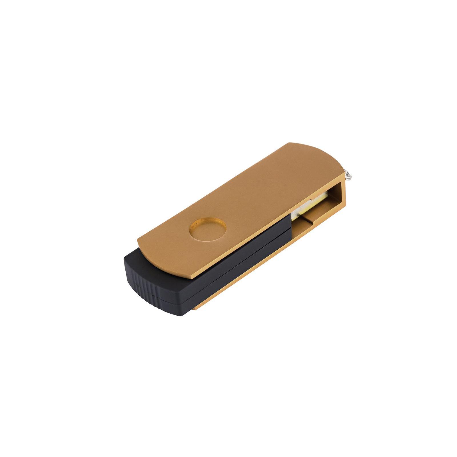 USB флеш накопитель eXceleram 64GB P2 Series Yellow2/Black USB 2.0 (EXP2U2Y2B64) изображение 6