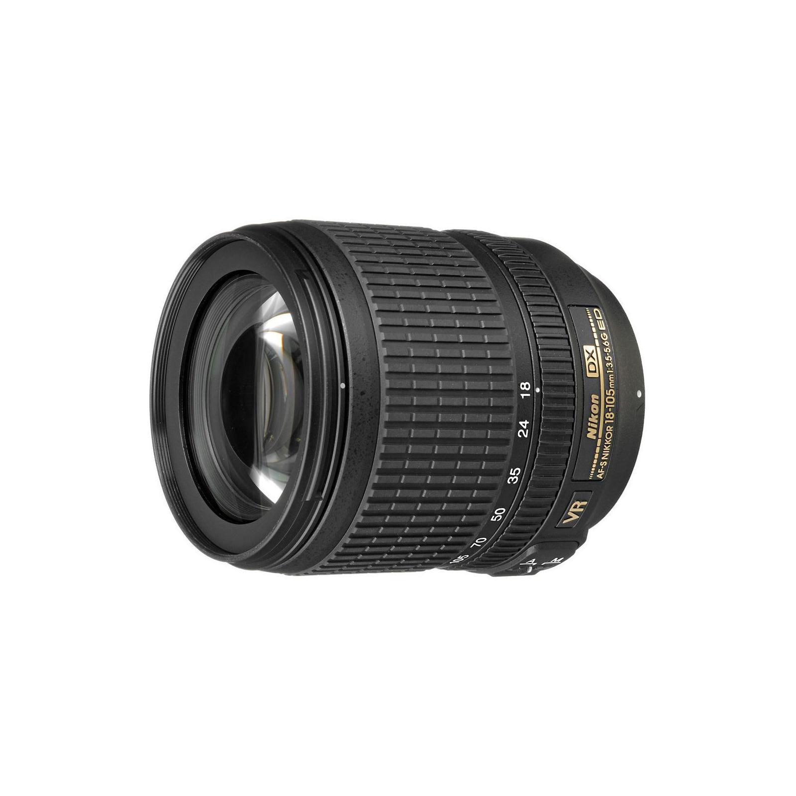 Объектив Nikon 18-105mm f/3.5-5.6G AF-S DX ED VR (JAA805DD) изображение 2