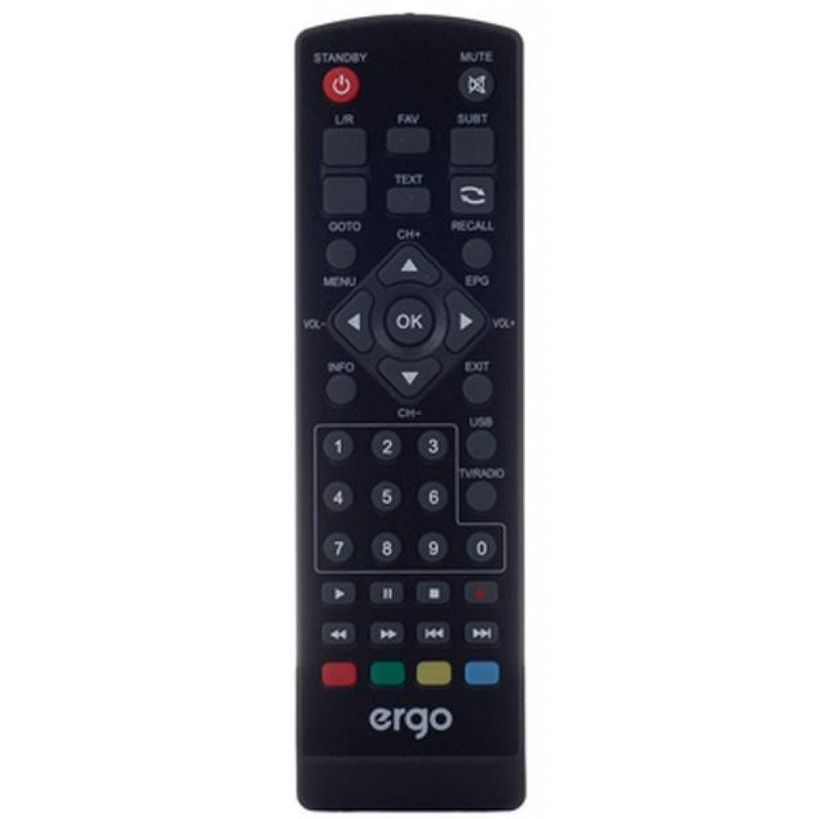 ТВ тюнер Ergo 1638 (DVB-T, DVB-T2) (STB-1638) изображение 7