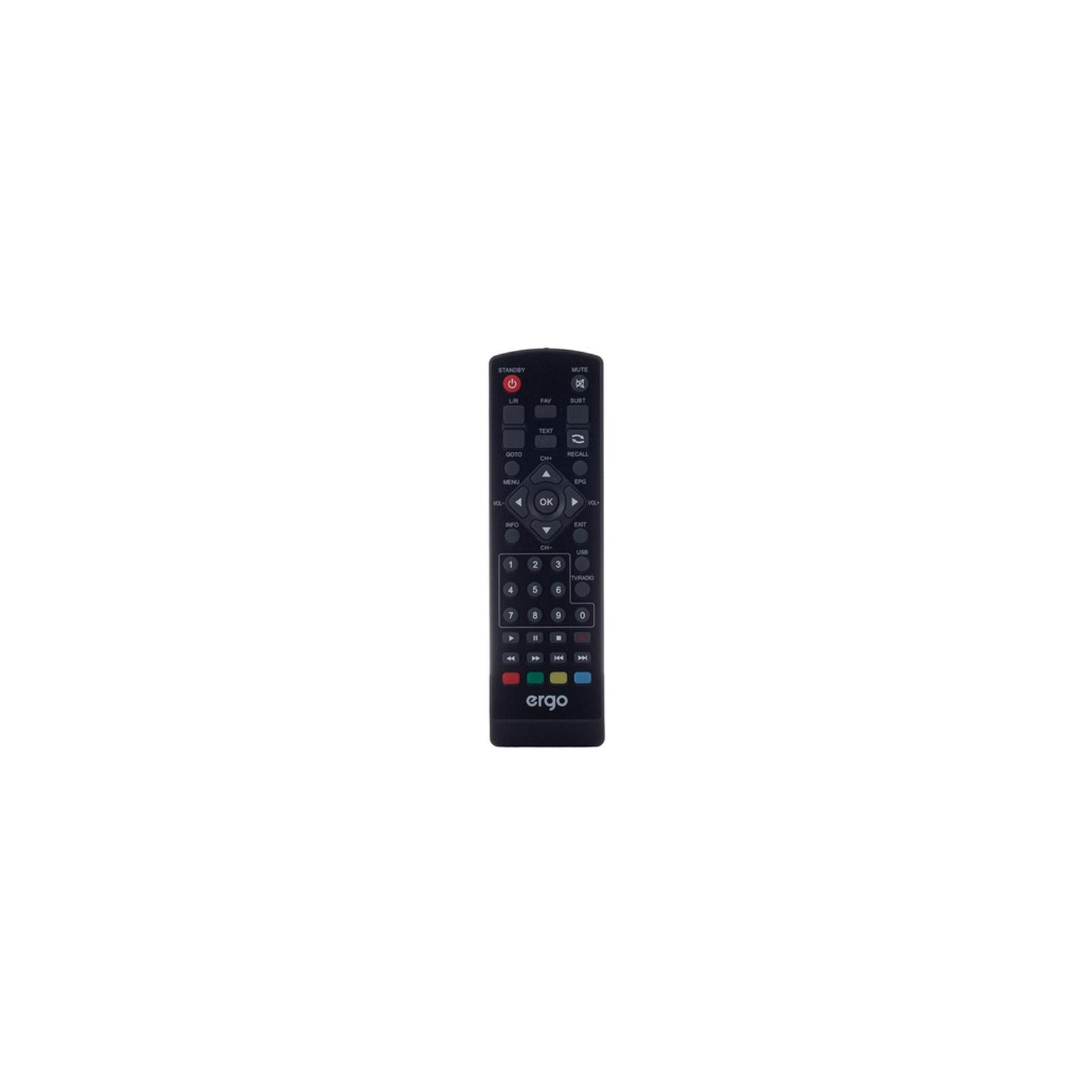 ТВ тюнер Ergo 1638 (DVB-T, DVB-T2) (STB-1638) зображення 7