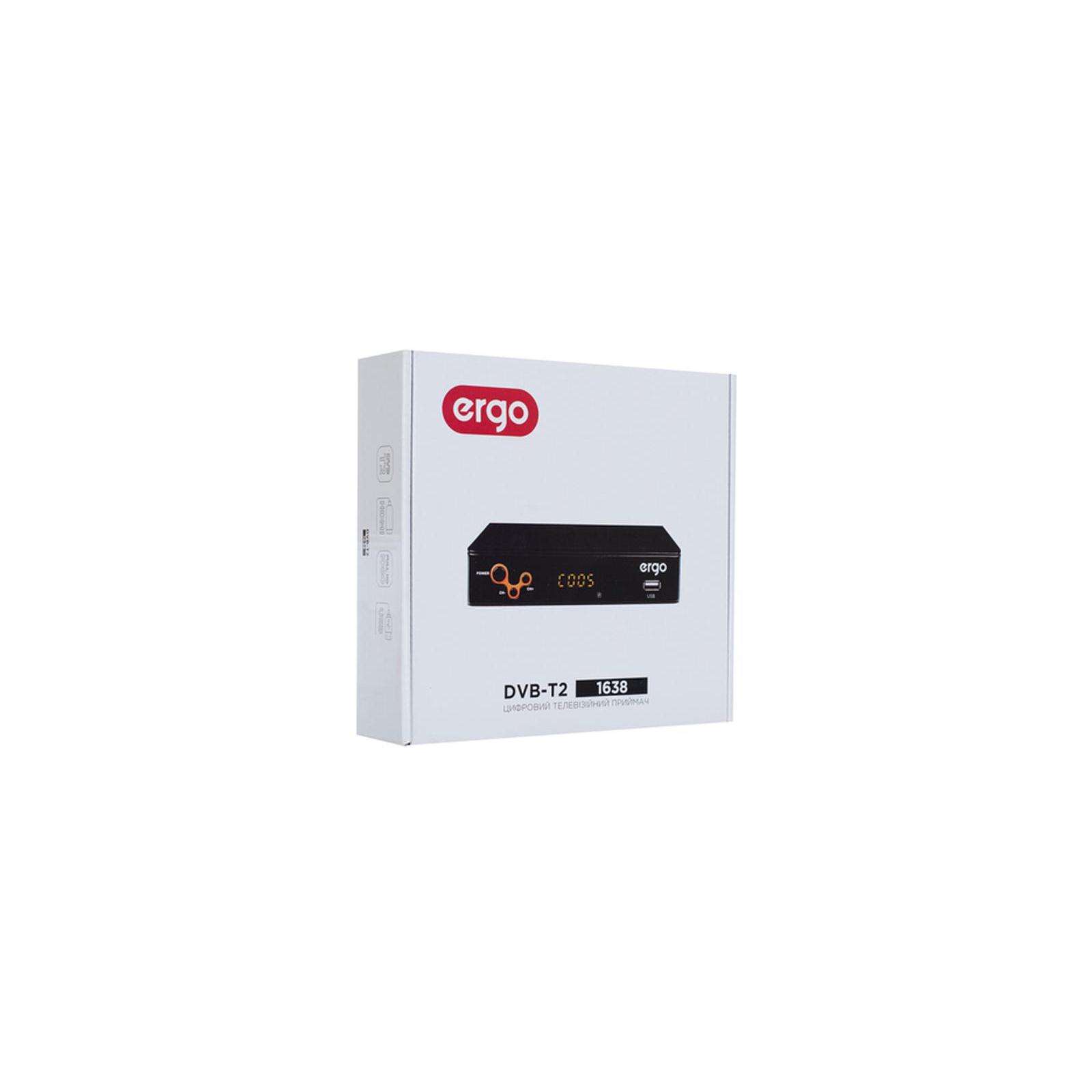 ТВ тюнер Ergo 1638 (DVB-T, DVB-T2) (STB-1638) зображення 8