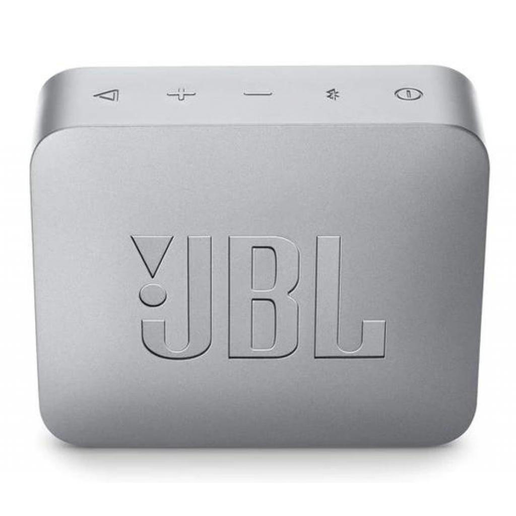 Акустическая система JBL GO 2 Gray (JBLGO2GRY) изображение 2