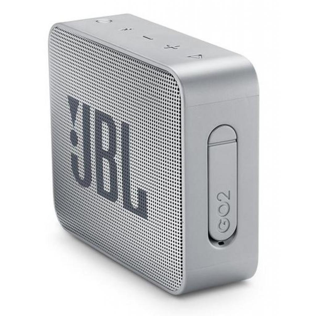 Акустическая система JBL GO 2 Gray (JBLGO2GRY) изображение 3