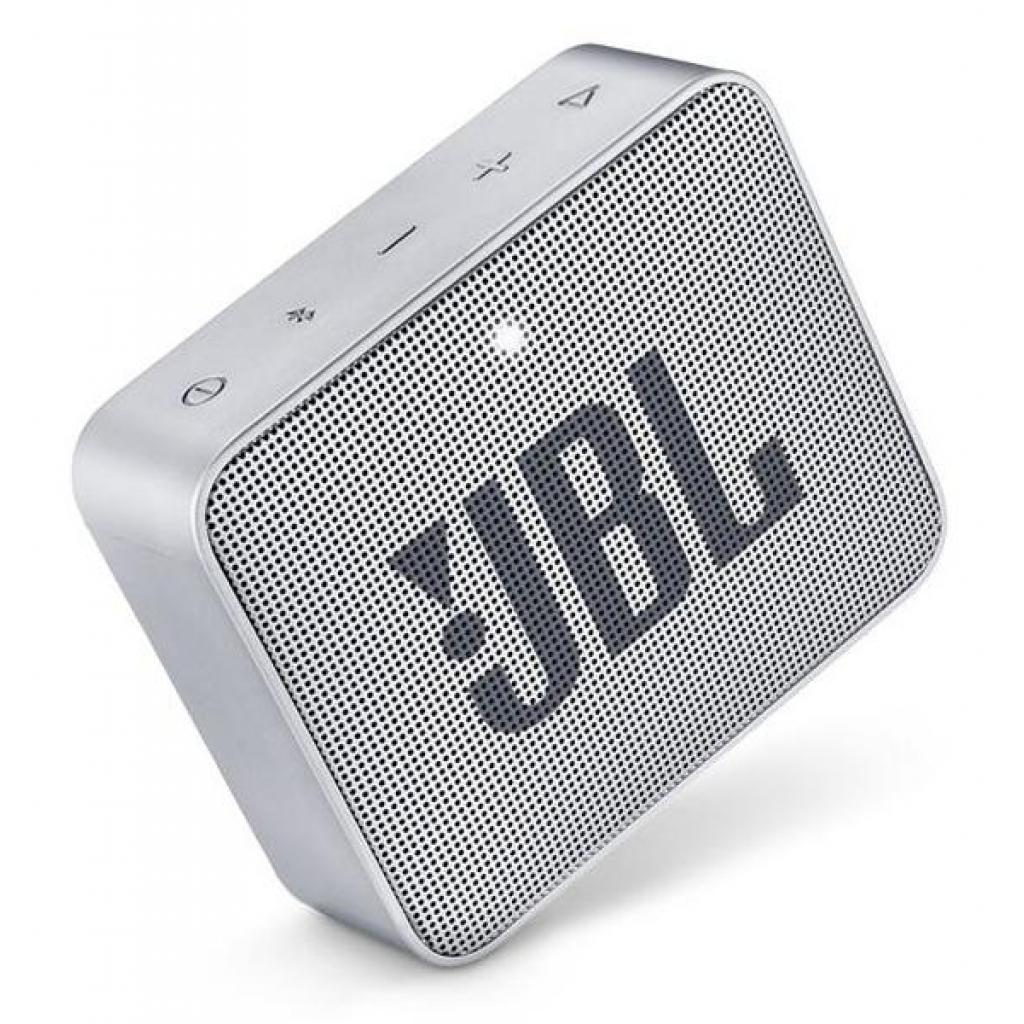 Акустическая система JBL GO 2 Gray (JBLGO2GRY) изображение 5