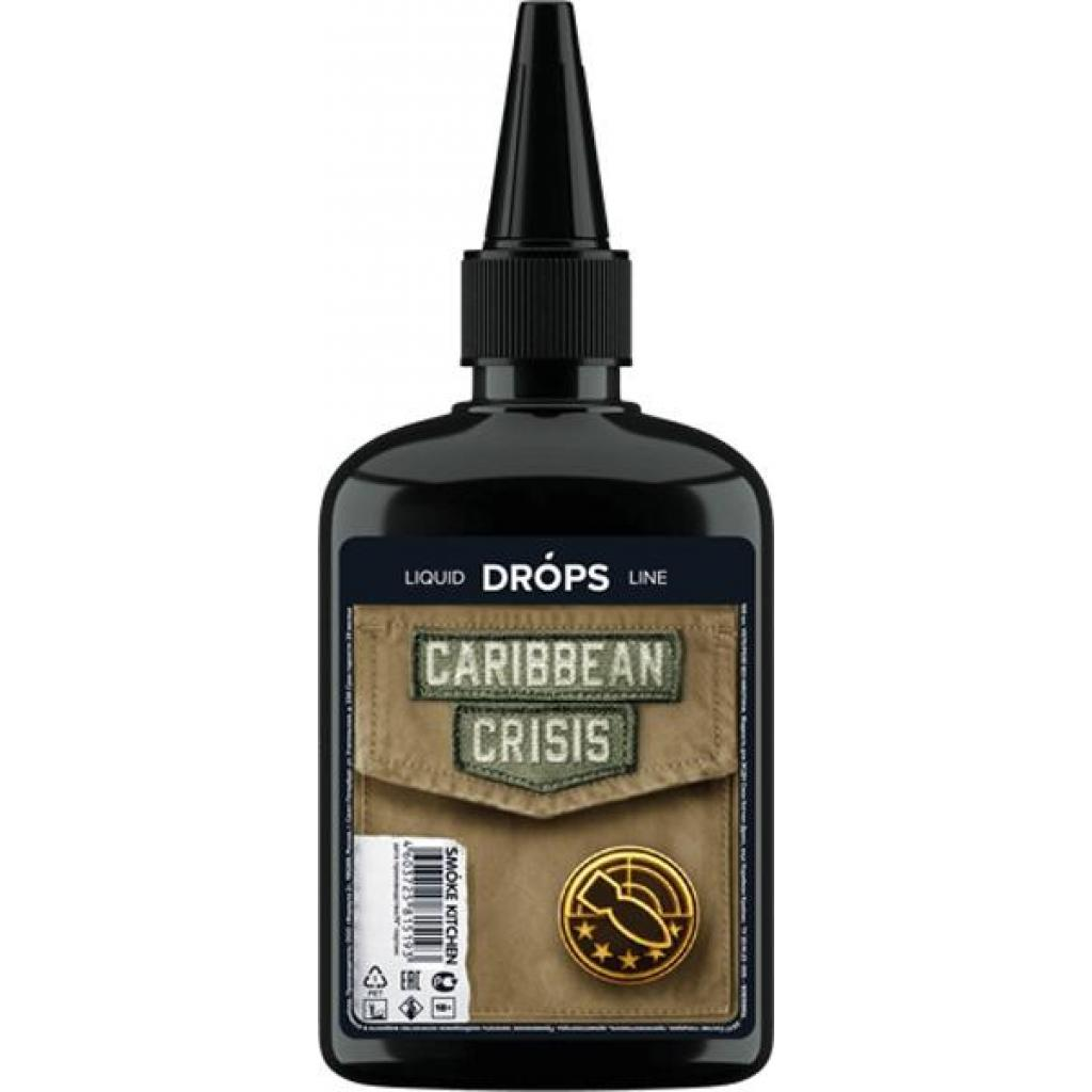 "Жидкость для электронных сигарет Smoke Kitchen Drops ""Caribbean Crisis"" 100 ml 0 мг/мл (CRP-CC-0)"