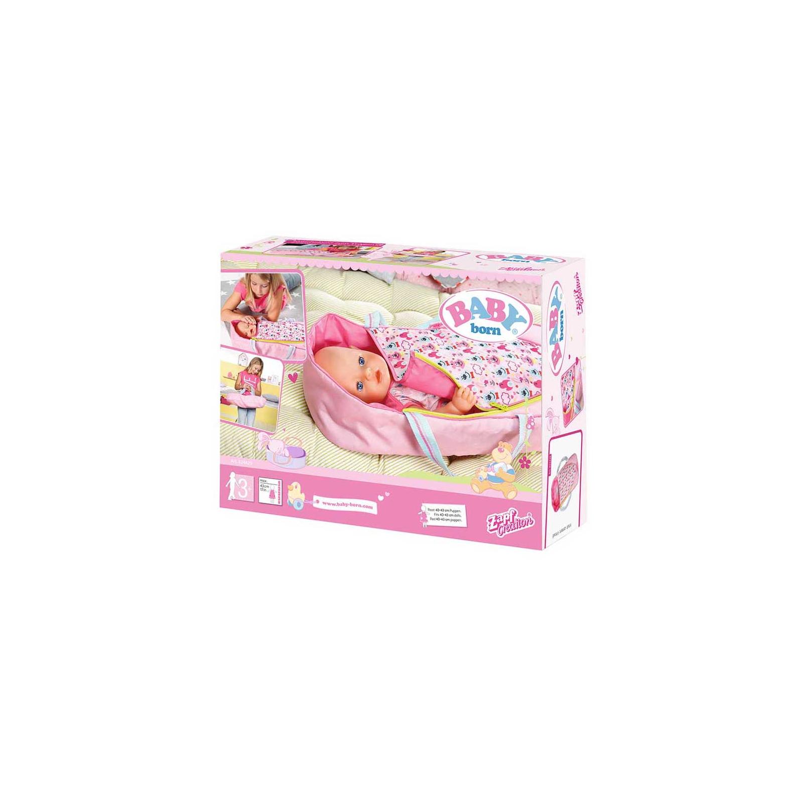 Аксессуар к кукле Zapf Люлька-переноска Baby Born 2 в 1 Яркие сны (824429) изображение 8