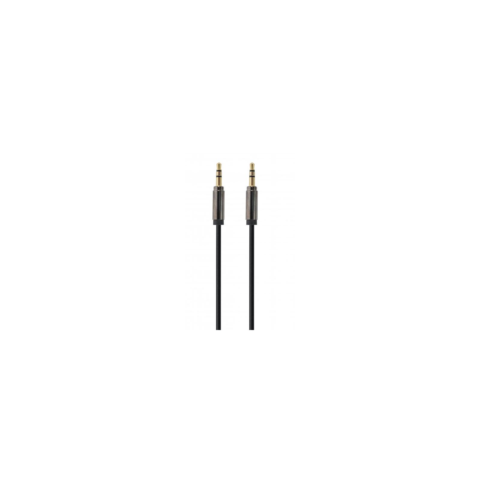 Кабель мультимедийный Jack 3.5mm M to Jack 3.5mm M 1.0m Cablexpert (CCAPB-444-1M)