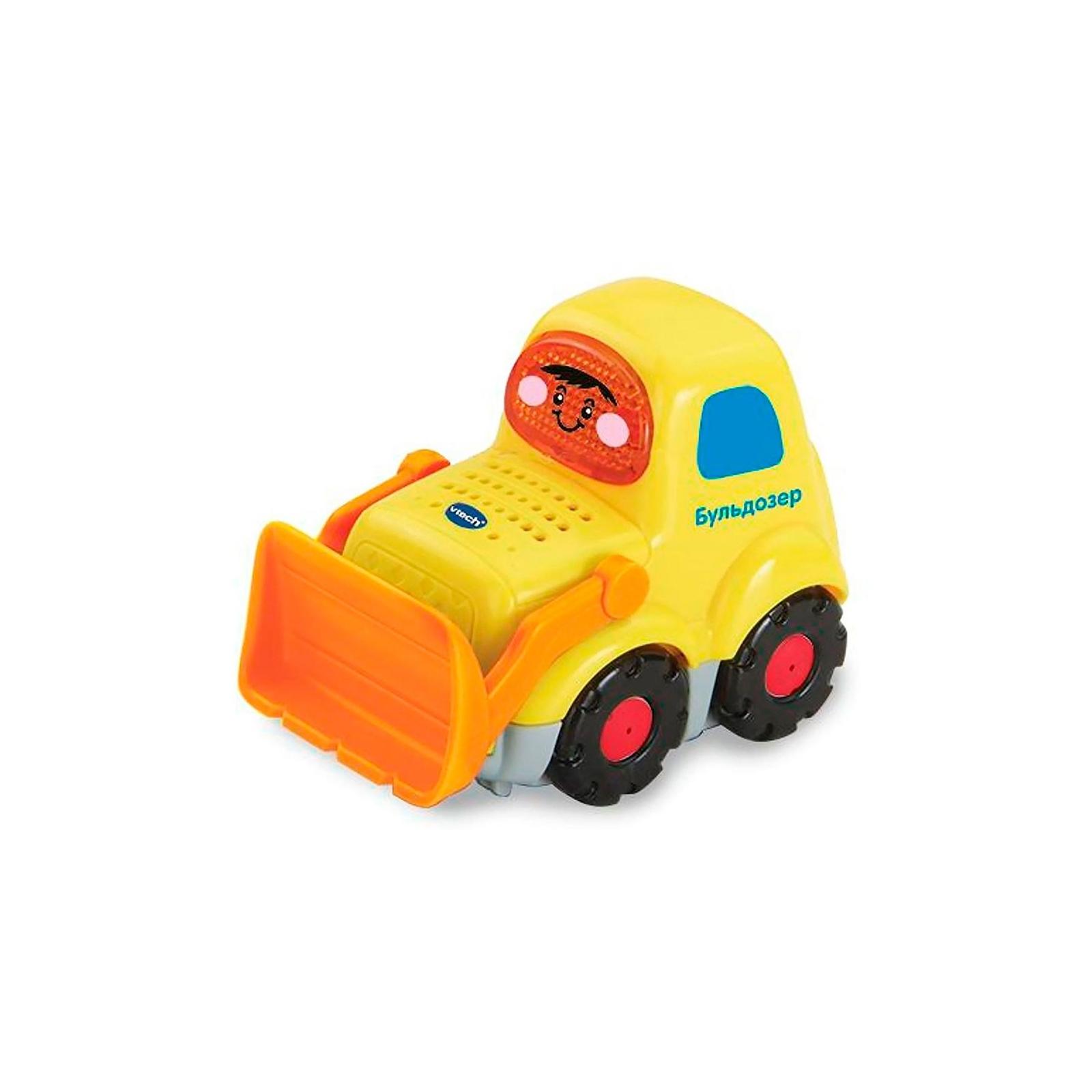 Развивающая игрушка VTech Бип-Бип Бульдозер со звуковыми эффектами (80-151826)