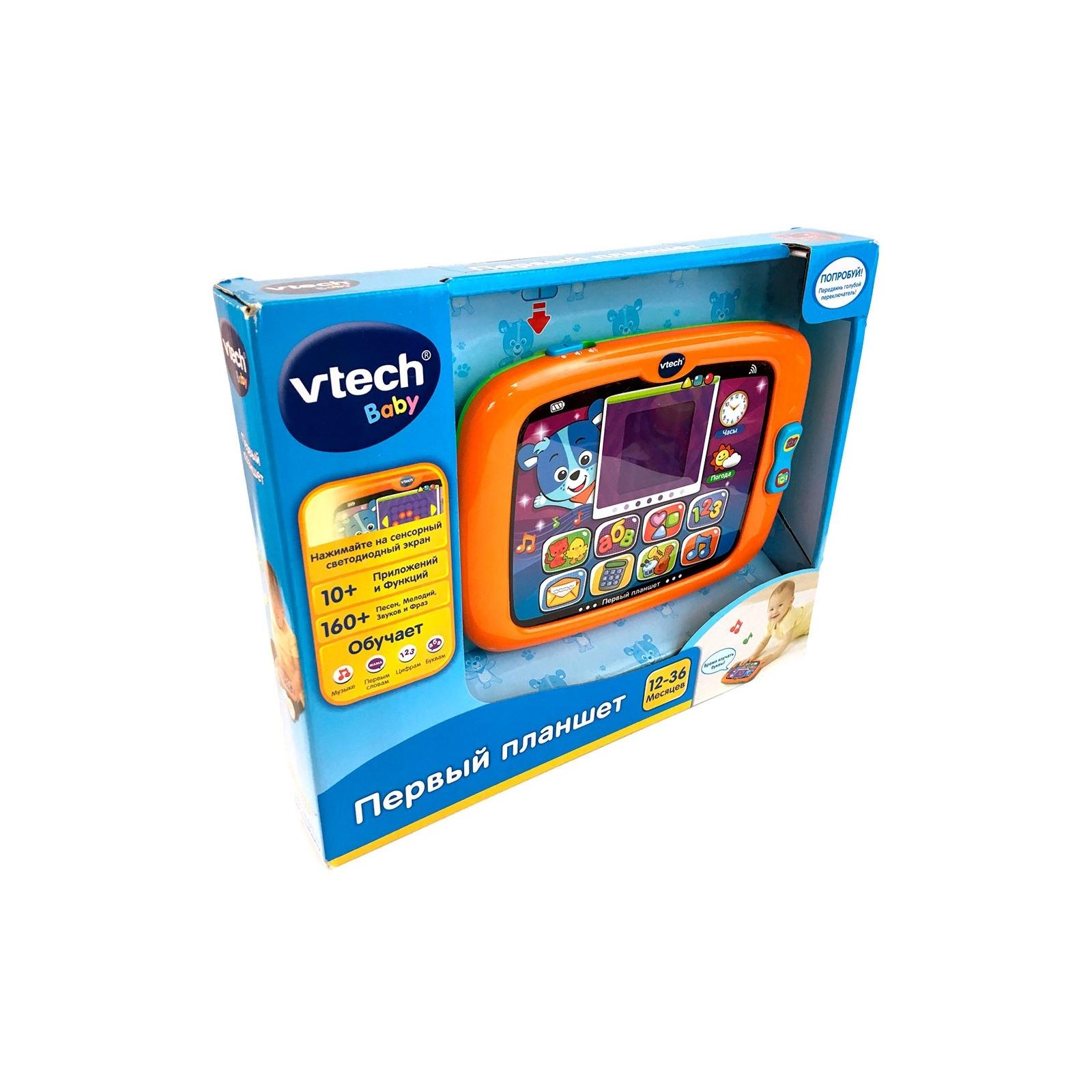 Развивающая игрушка VTech Первый планшет со звуковыми эффектами (80-151426) изображение 2