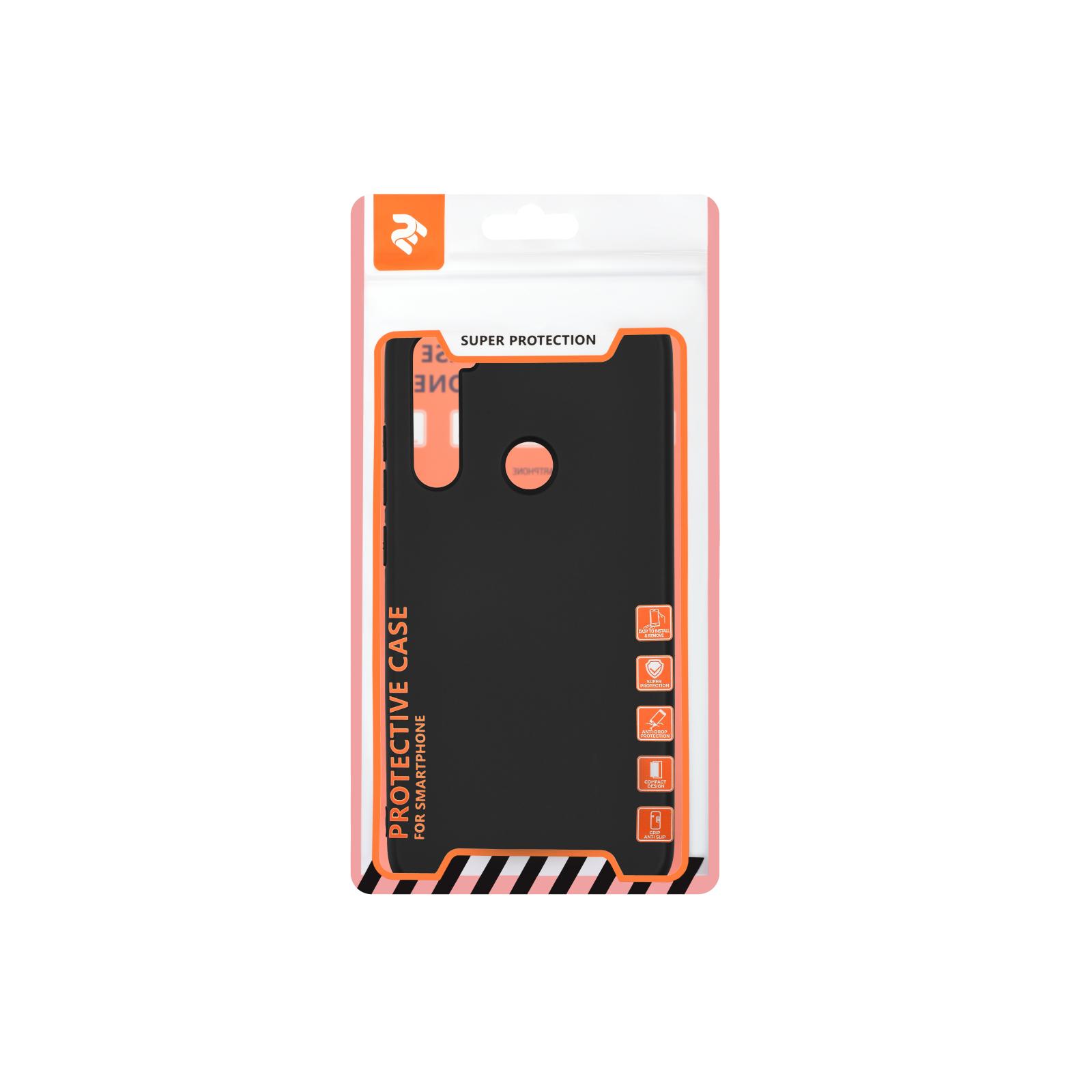 Чехол для моб. телефона 2E Xiaomi Redmi Note 8, Soft feeling, Black (2E-MI-N8-NKSF-BK) изображение 3