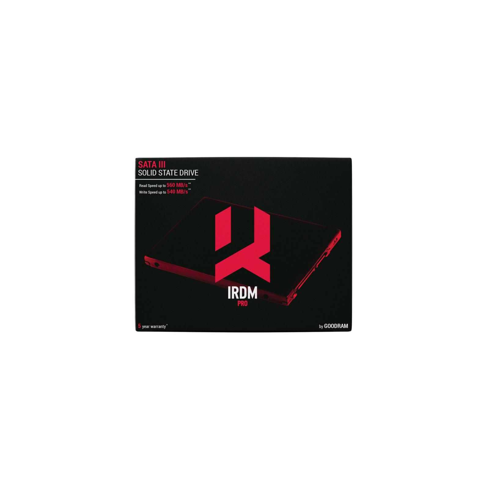 "Накопитель SSD 2.5"" 240GB Goodram (IRP-SSDPR-S25B-240) изображение 6"