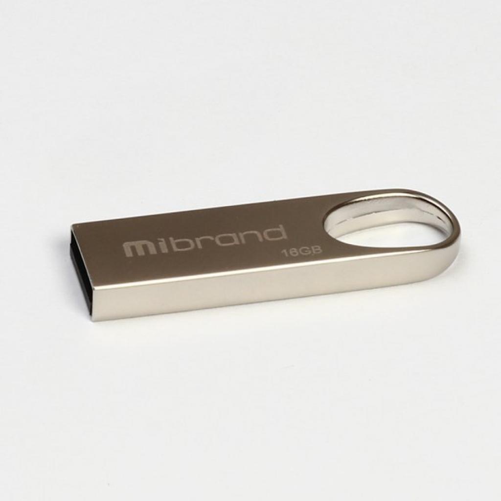 USB флеш накопитель Mibrand 8GB Irbis Silver USB 2.0 (MI2.0/IR8U3S)