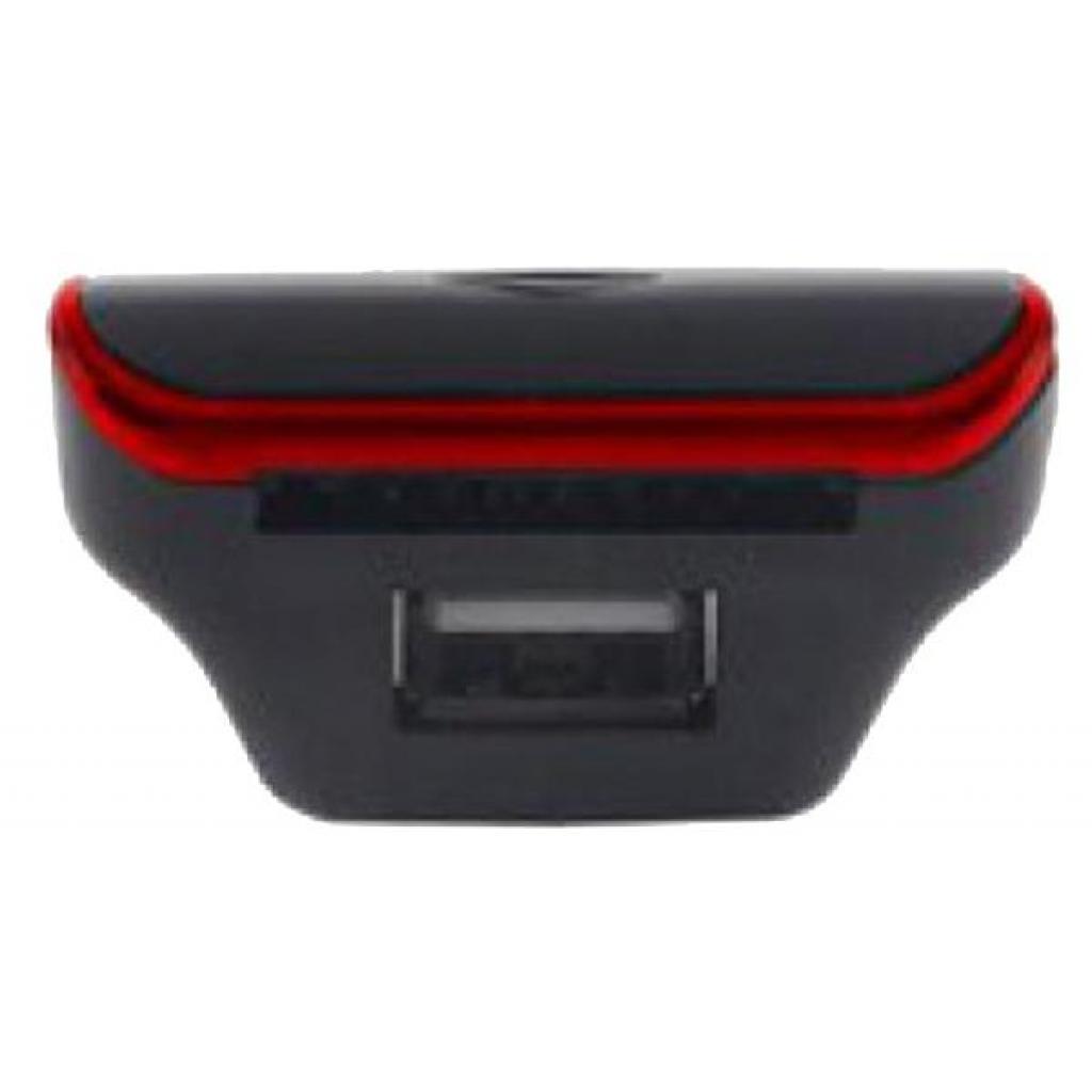 Автомобильный MP3-FM модулятор Grand-X CUFM24GRX red SD/USB (CUFM24GRX red) изображение 3