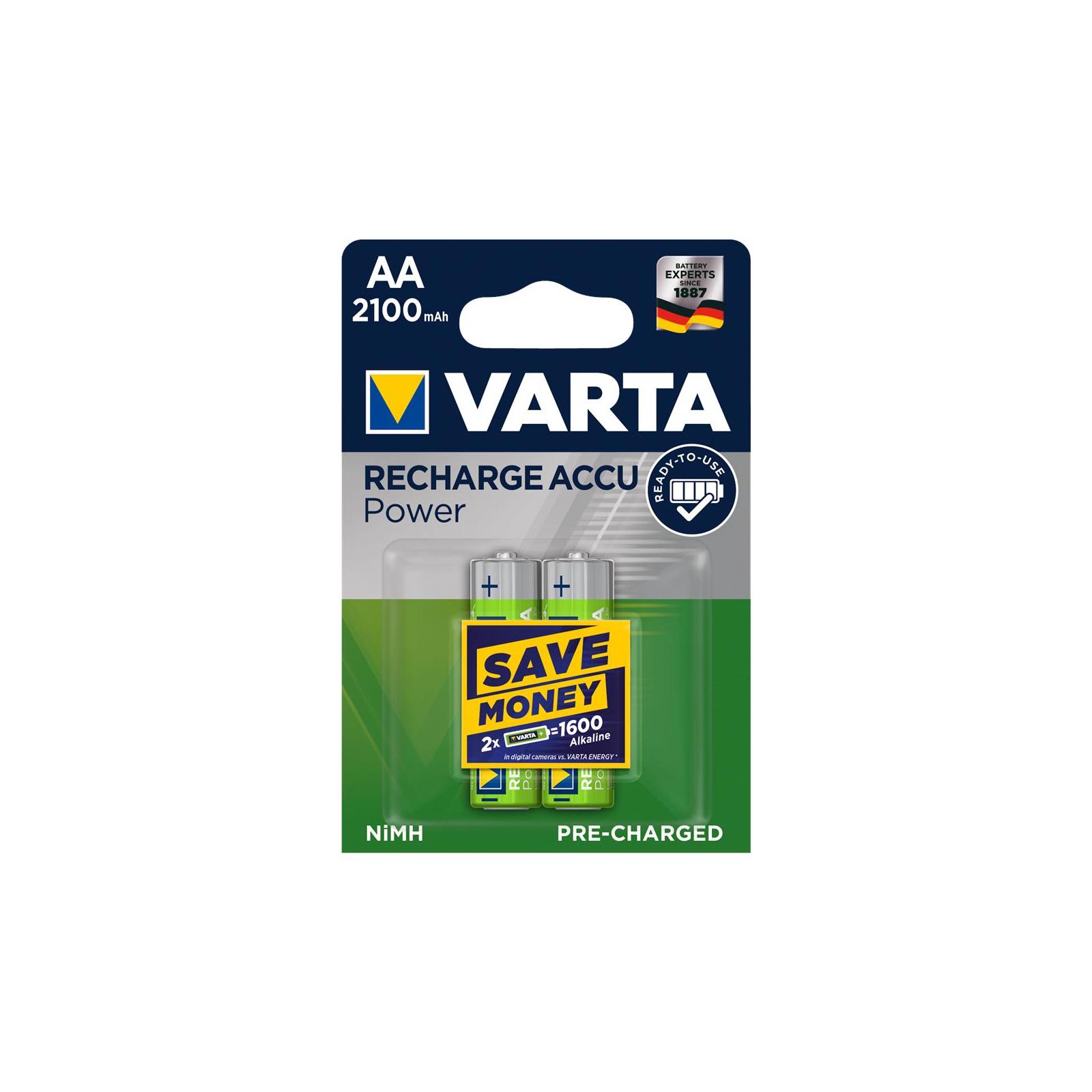 Аккумулятор Varta AA Rechargeable Accu 2100mAh * 2 (56706101402)