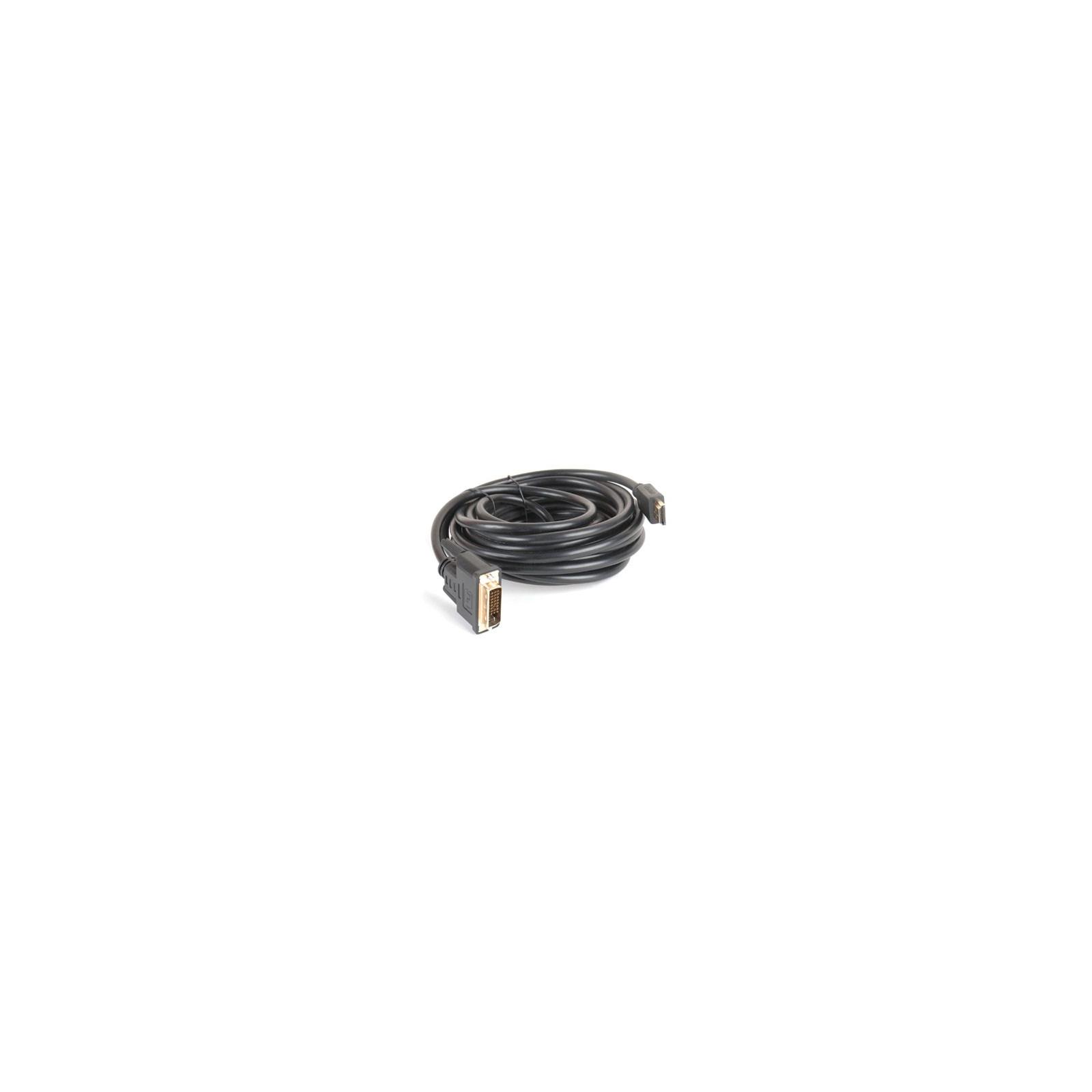 Кабель мультимедийный HDMI to DVI 24+1pin M, 5.0m GEMIX (Art.GC 1418)