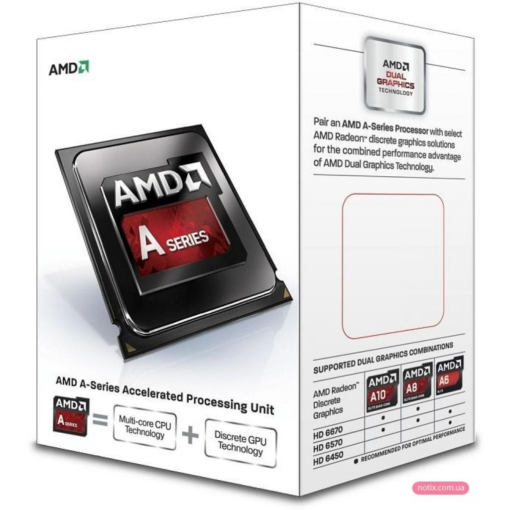 Процессор AMD A4-6300 (AD6300OKHLBOX)