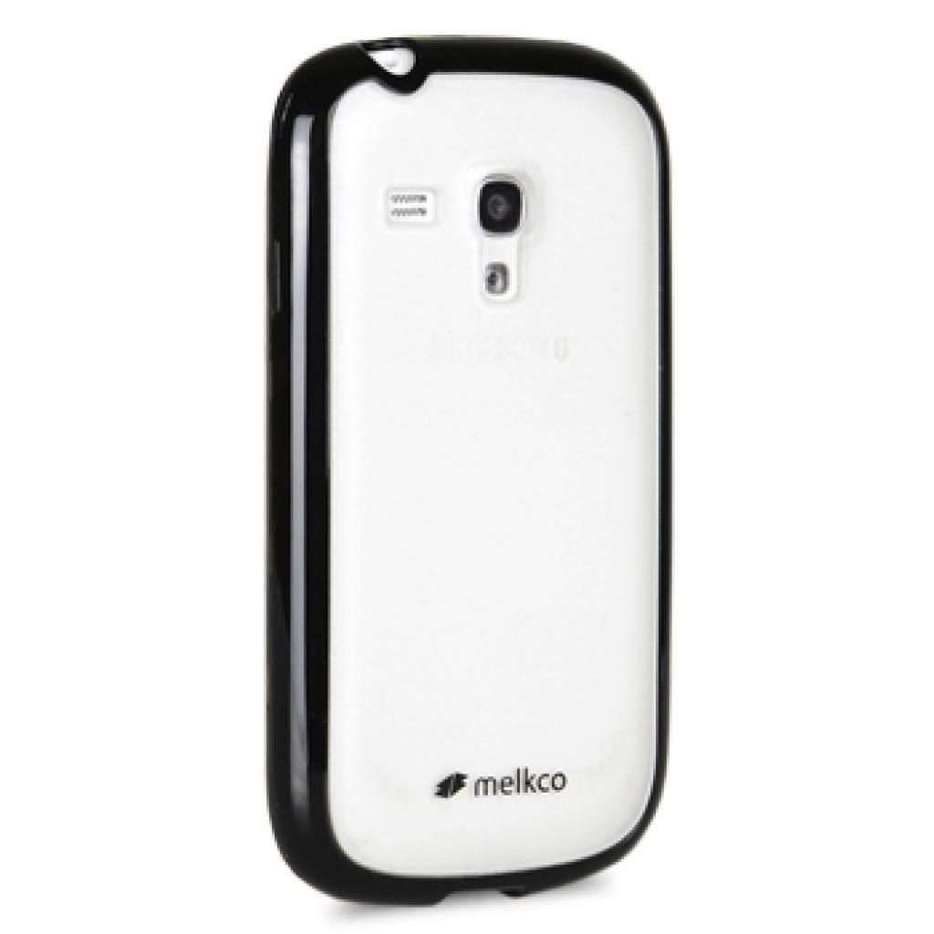 Чехол для моб. телефона Melkco для Samsung i8190 Galaxy SIII mini black/white (SSGN81TPLT2BKWETS) изображение 3
