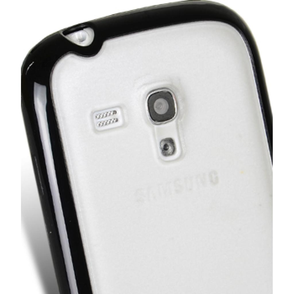 Чехол для моб. телефона Melkco для Samsung i8190 Galaxy SIII mini black/white (SSGN81TPLT2BKWETS) изображение 5