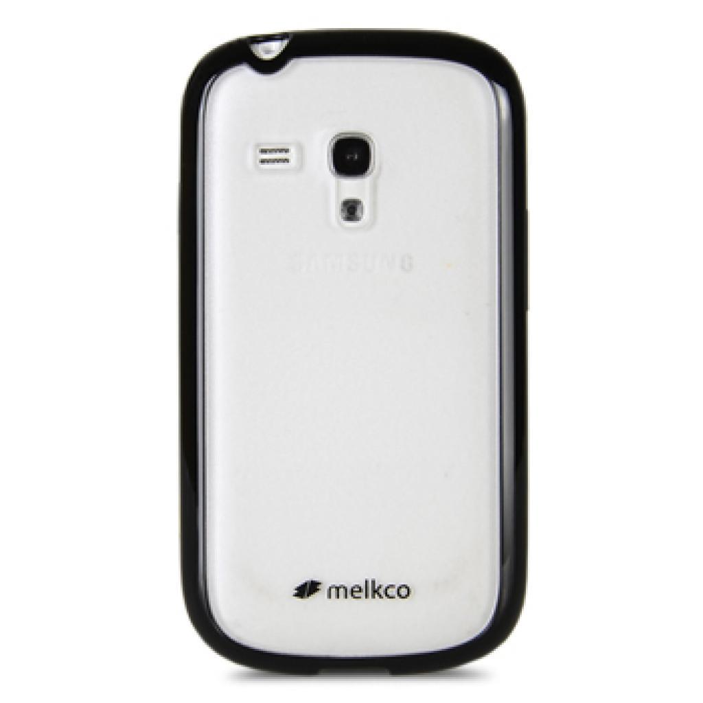 Чехол для моб. телефона Melkco для Samsung i8190 Galaxy SIII mini black/white (SSGN81TPLT2BKWETS)