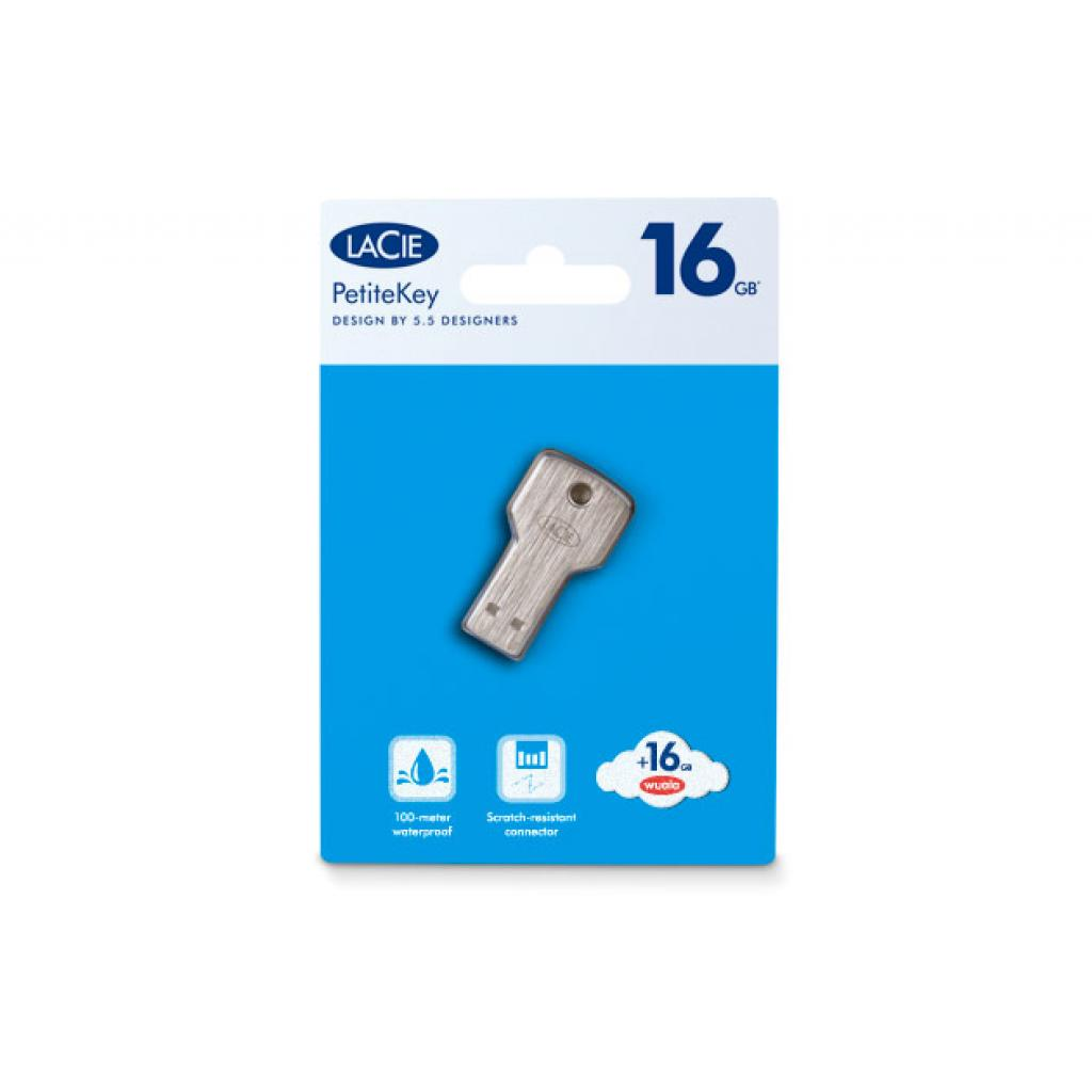 USB флеш накопитель LaCie 16Gb PetiteKey (9000347) изображение 6