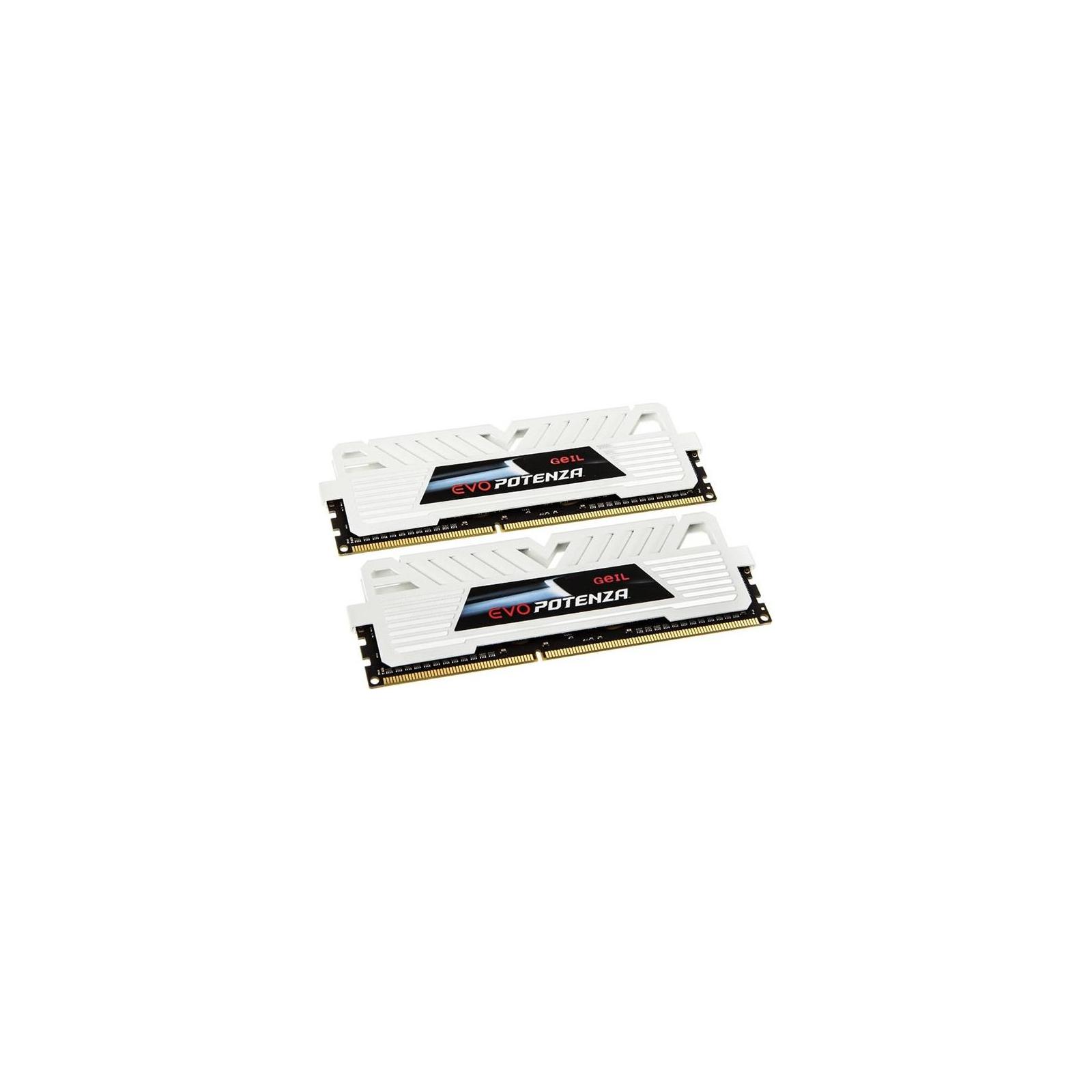 Модуль памяти для компьютера DDR3 16GB (2x8GB) 2400 MHz GEIL (GPW316GB2400C11BDC) изображение 2