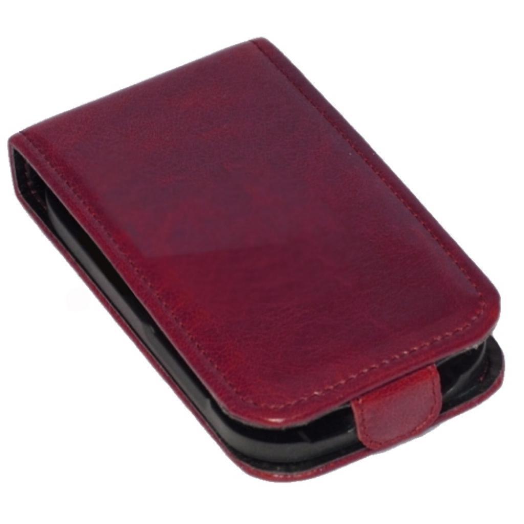Чехол для моб. телефона KeepUp для Samsung I9192 Galaxy SIV mini Duos Cherry/FLIP (00-00009986) изображение 3