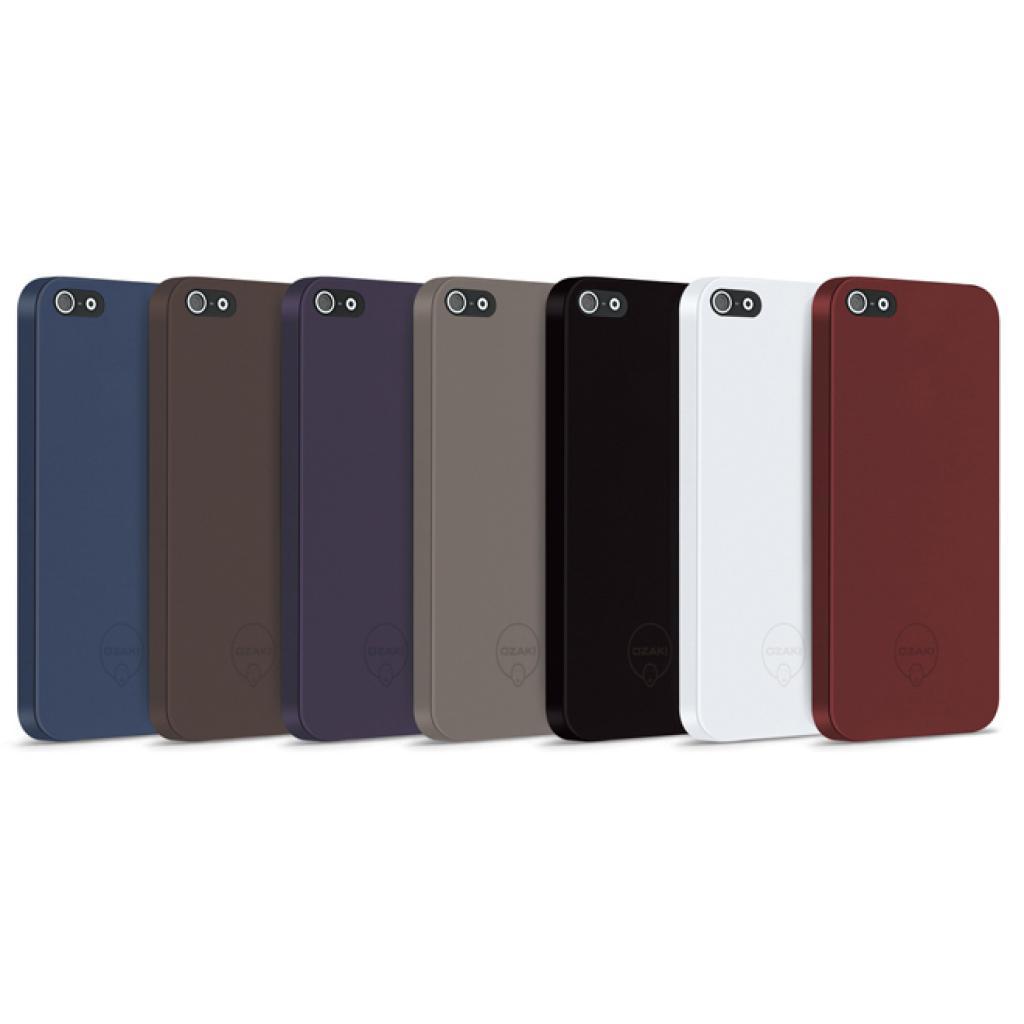 Чехол для моб. телефона OZAKI iPhone 5/5S O!coat 0.3 SOLID/Red (OC530RD) изображение 2
