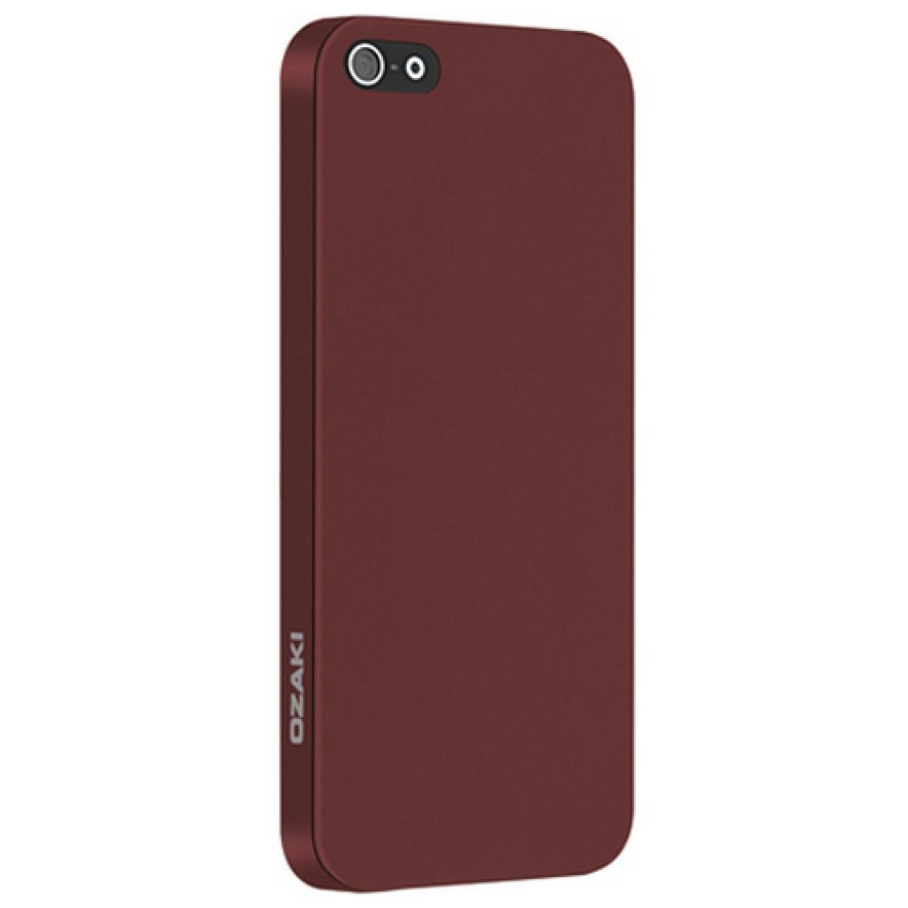 Чехол для моб. телефона OZAKI iPhone 5/5S O!coat 0.3 SOLID/Red (OC530RD)