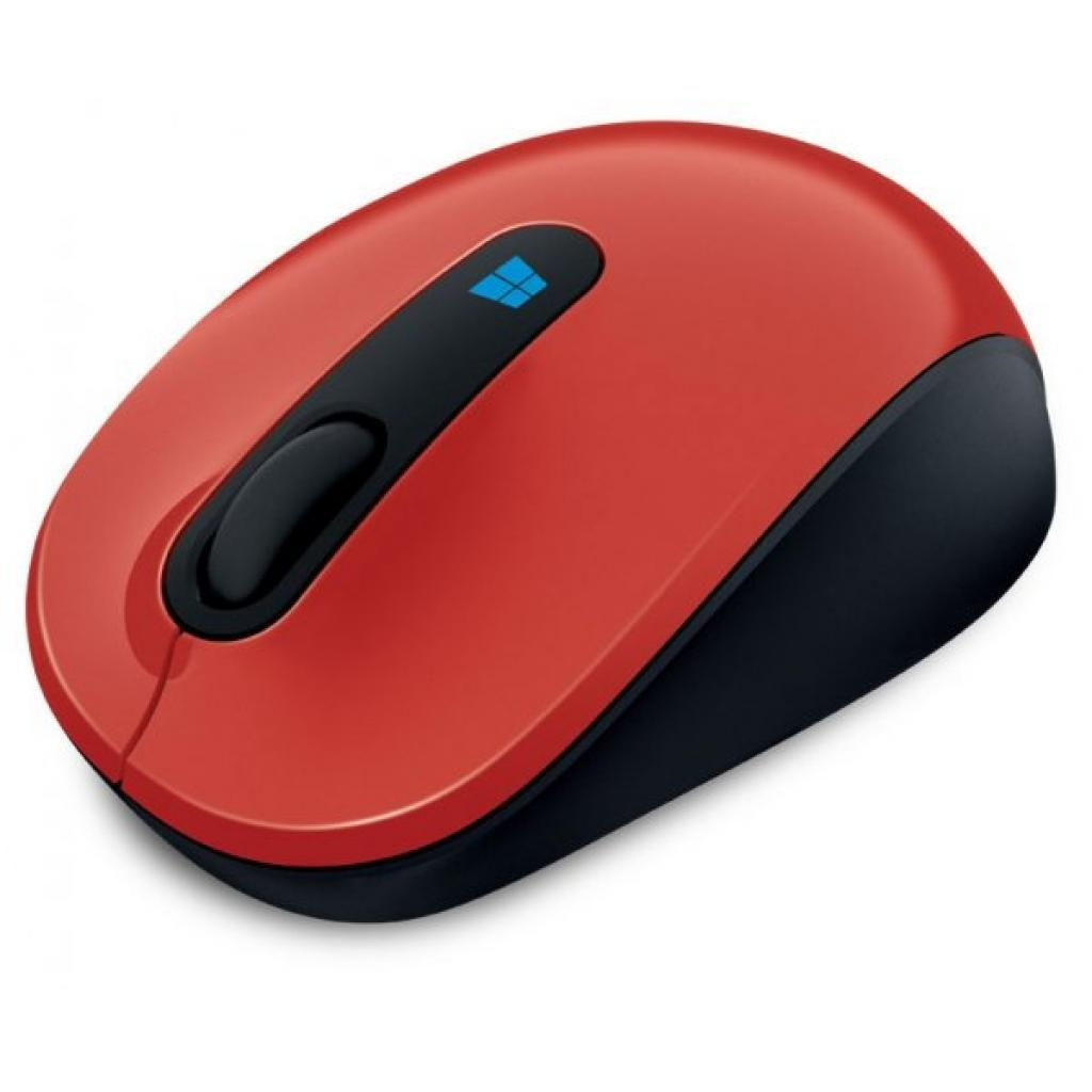 Мышка Microsoft Sculpt Mobile Flame Red (43U-00026) изображение 3