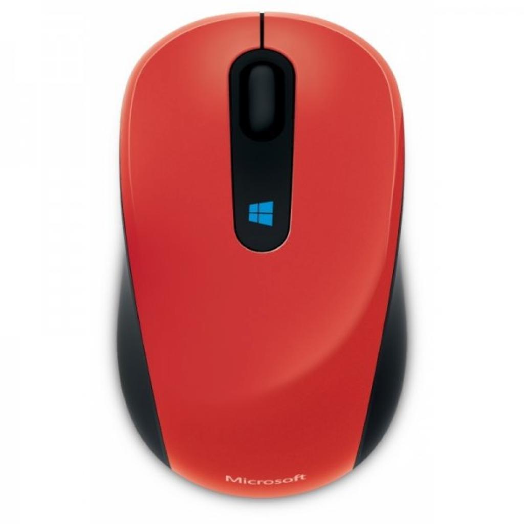 Мышка Microsoft Sculpt Mobile Flame Red (43U-00026)