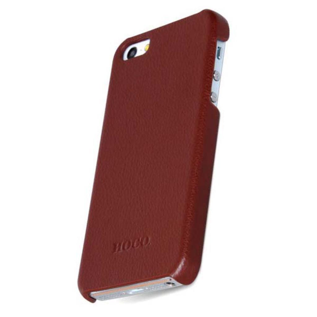 Чехол для моб. телефона HOCO для iPhone 5 /Duke back (HI-BL006 Brown)