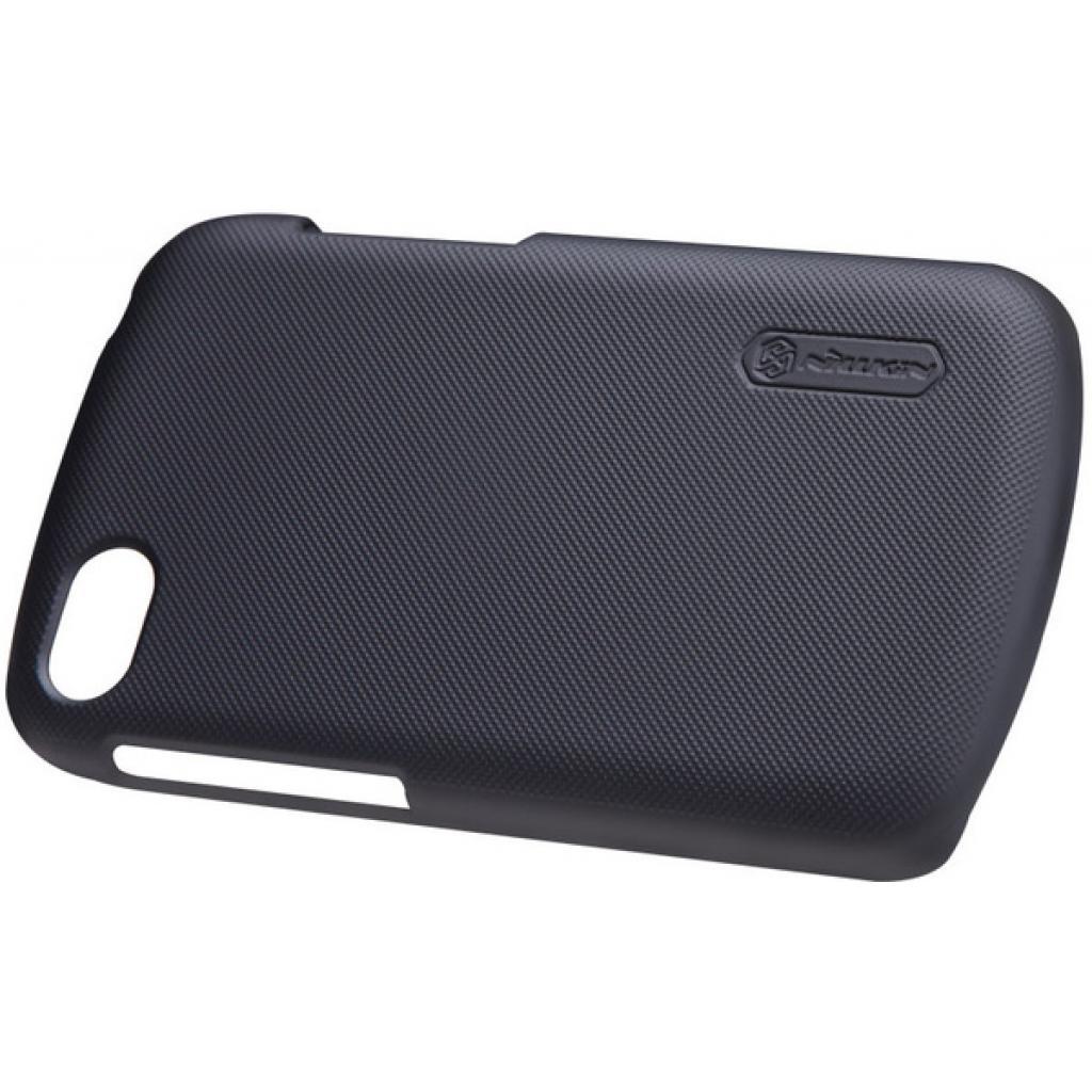 Чехол для моб. телефона NILLKIN для Bleckberry Q10 /Super Frosted Shield/Black (6120346) изображение 2