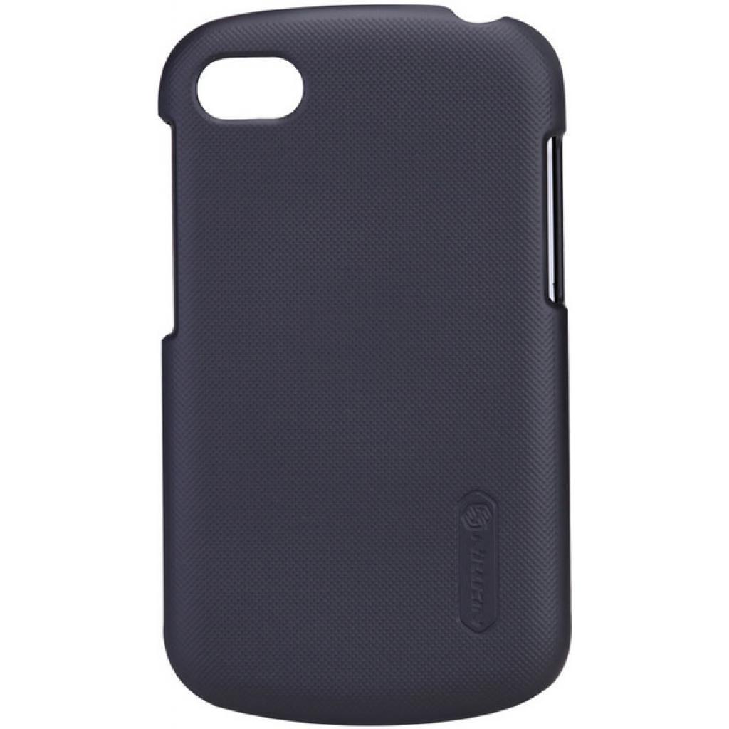 Чехол для моб. телефона NILLKIN для Bleckberry Q10 /Super Frosted Shield/Black (6120346)